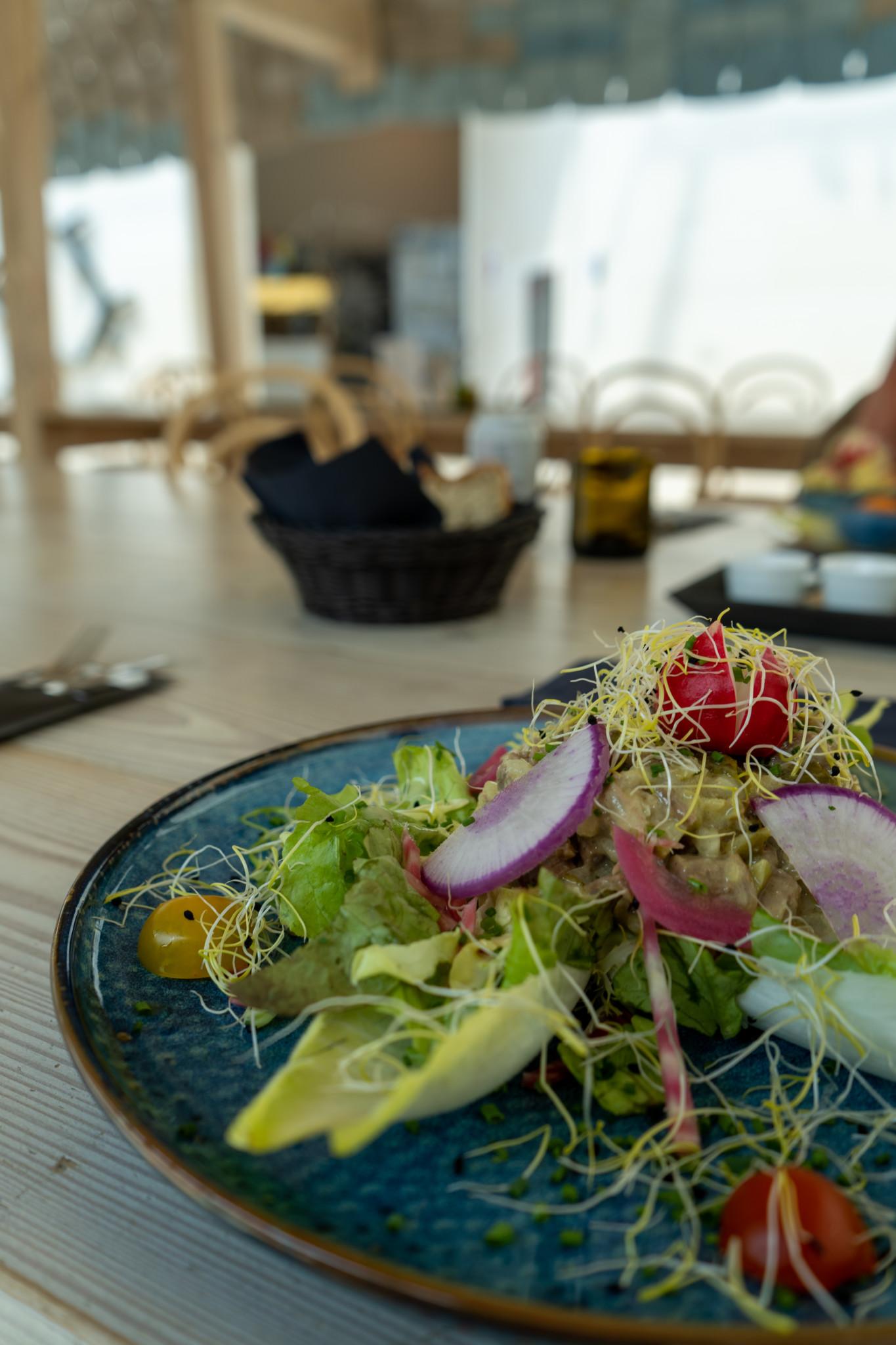 Salat im Musée Mudam
