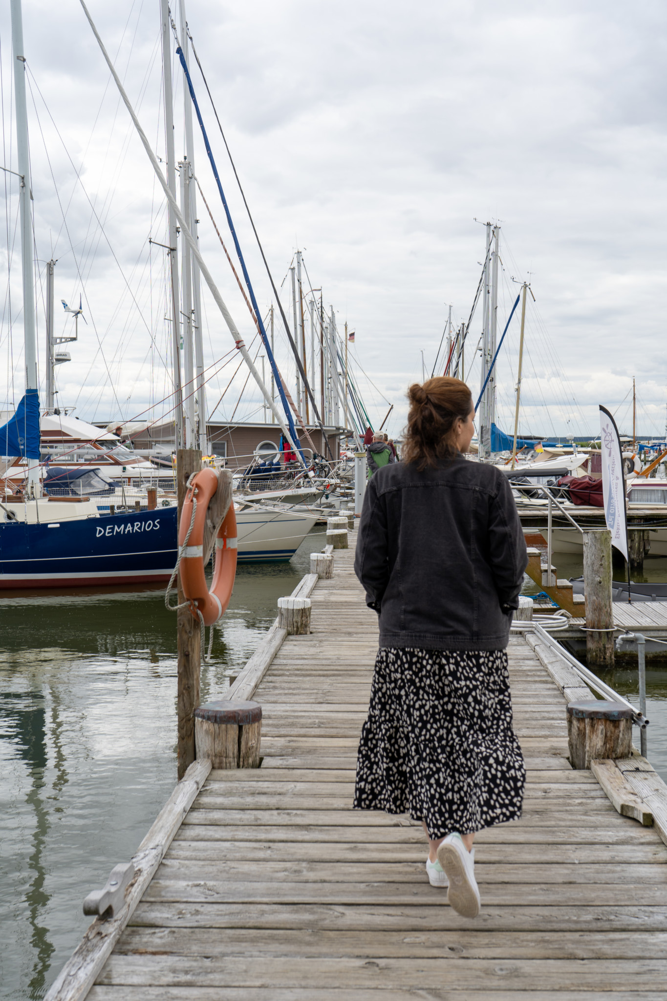 Naturhafen Kamminke auf Usedom