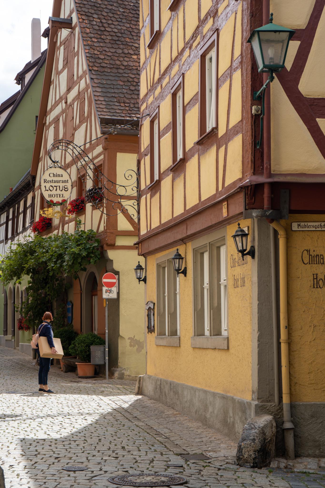 Cafés gibt es in Rothenburg überall