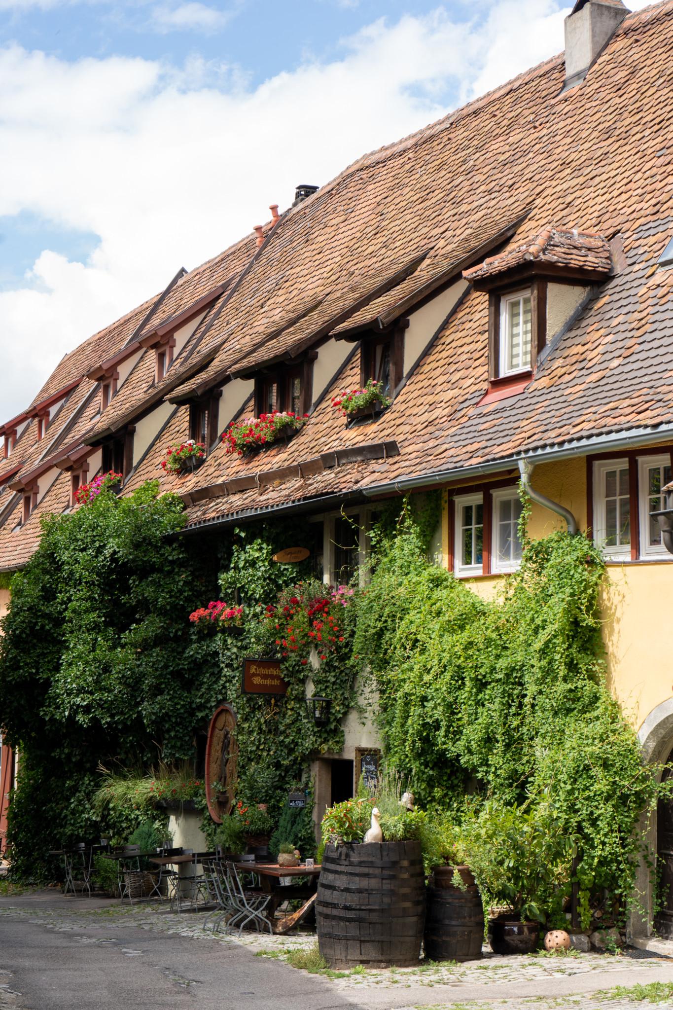 Architektur in Rothenburg ob der Tauber