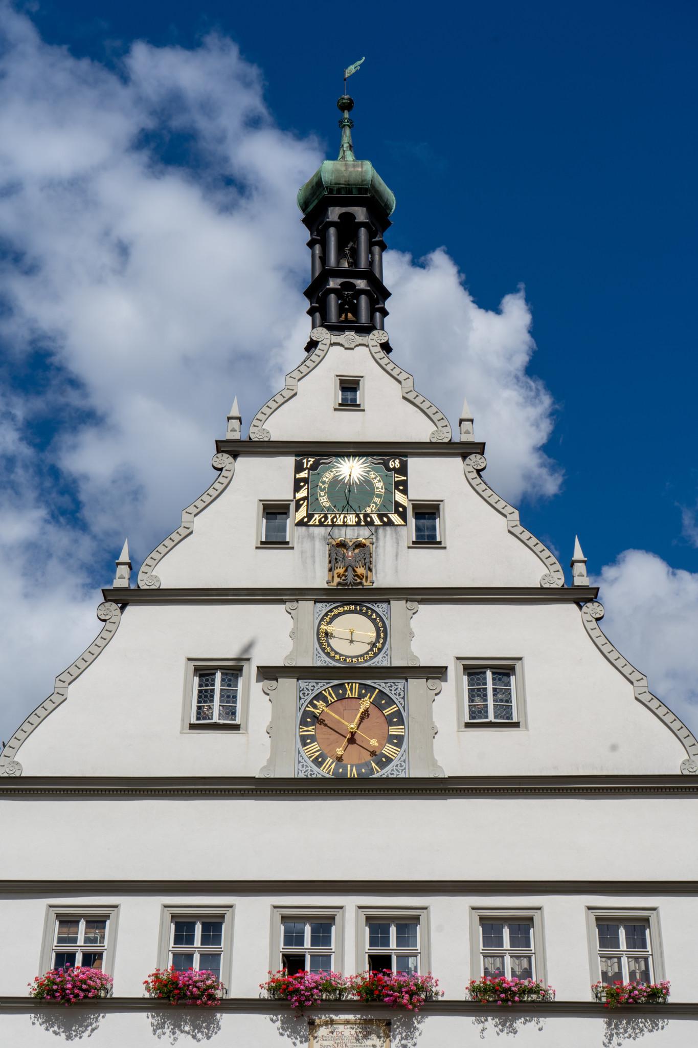 Sonnenuhr in Rothenburg