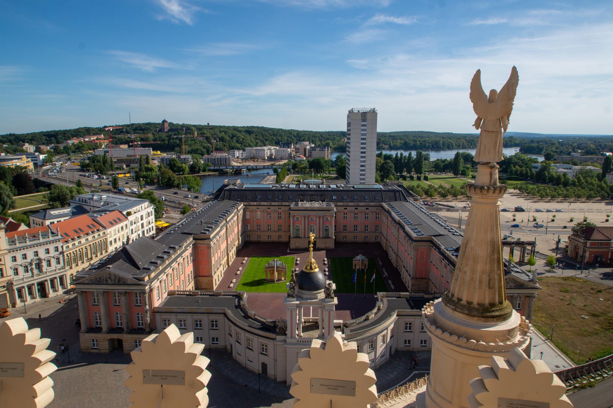 Ausblick von der St. Nikolaikirche in Potsdam