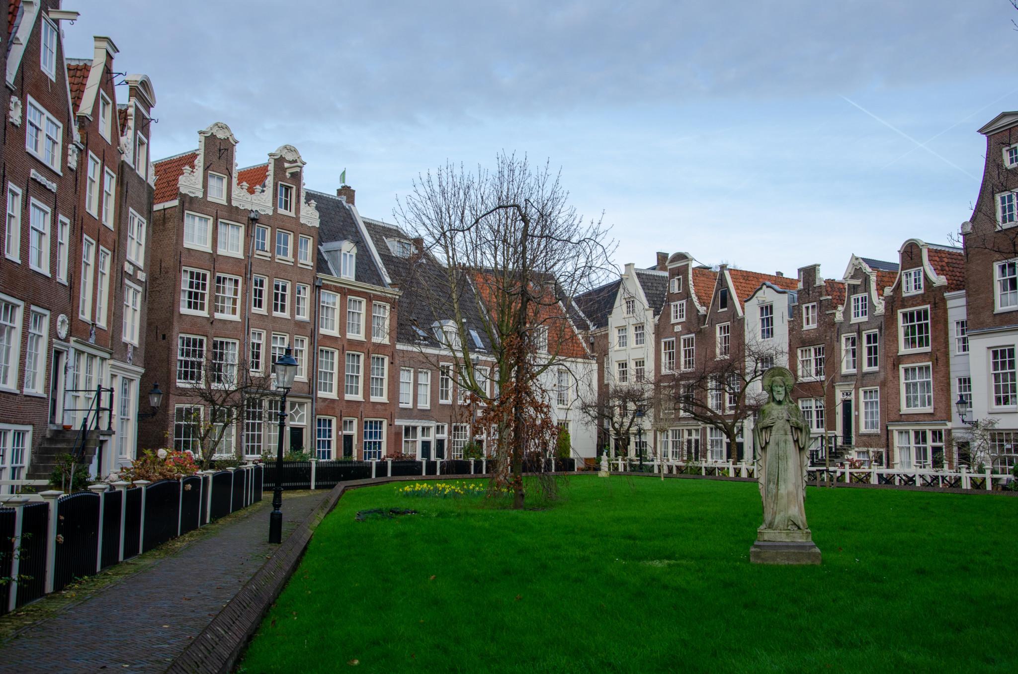 Begijnhof Amsterdam Sehenswürdigkeiten