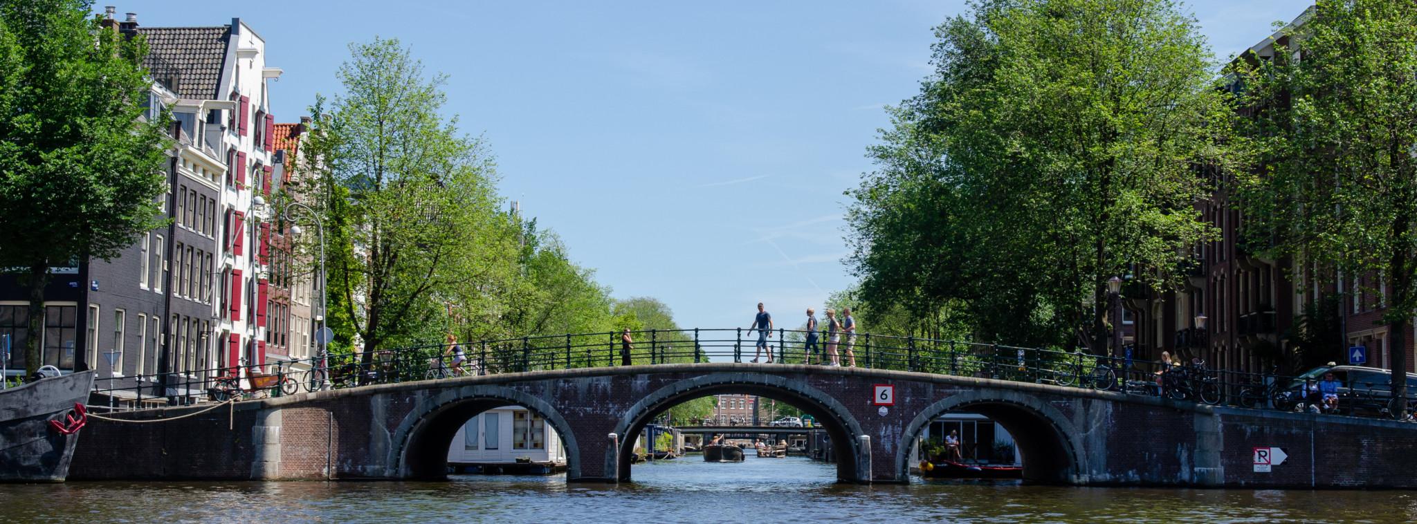 Brücke Jordaan Amsterdam
