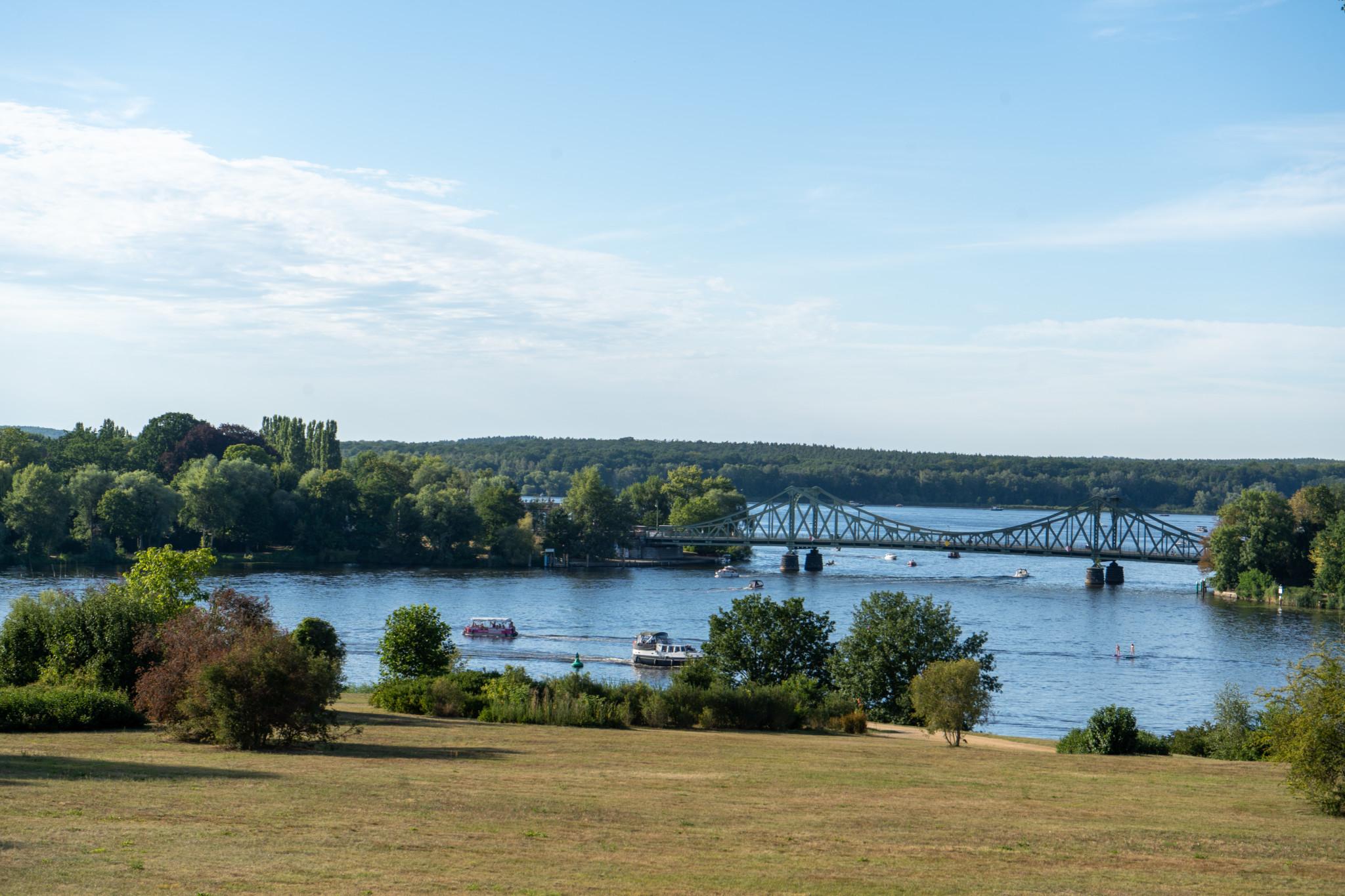 Die berühmte Glienicker Brücke