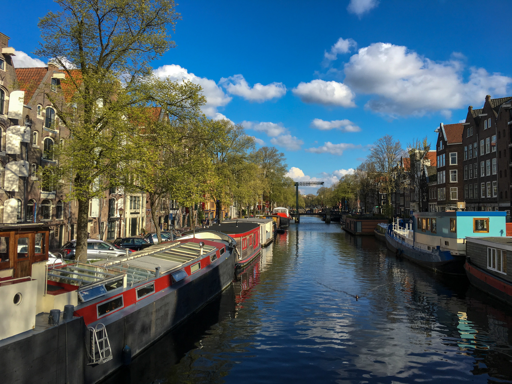 Grachtenblick in Amsterdam