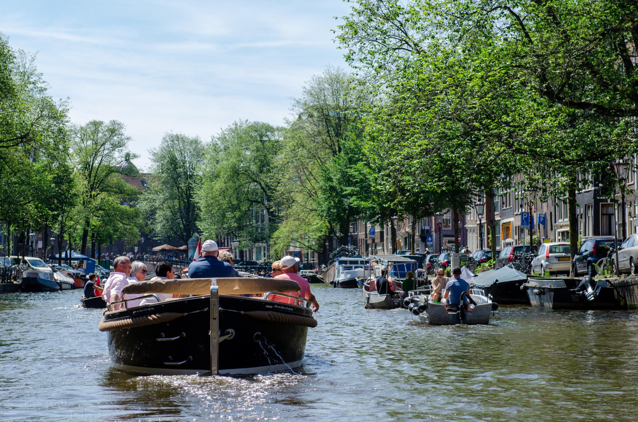 Offene Kanalfahrt in Amsterdam
