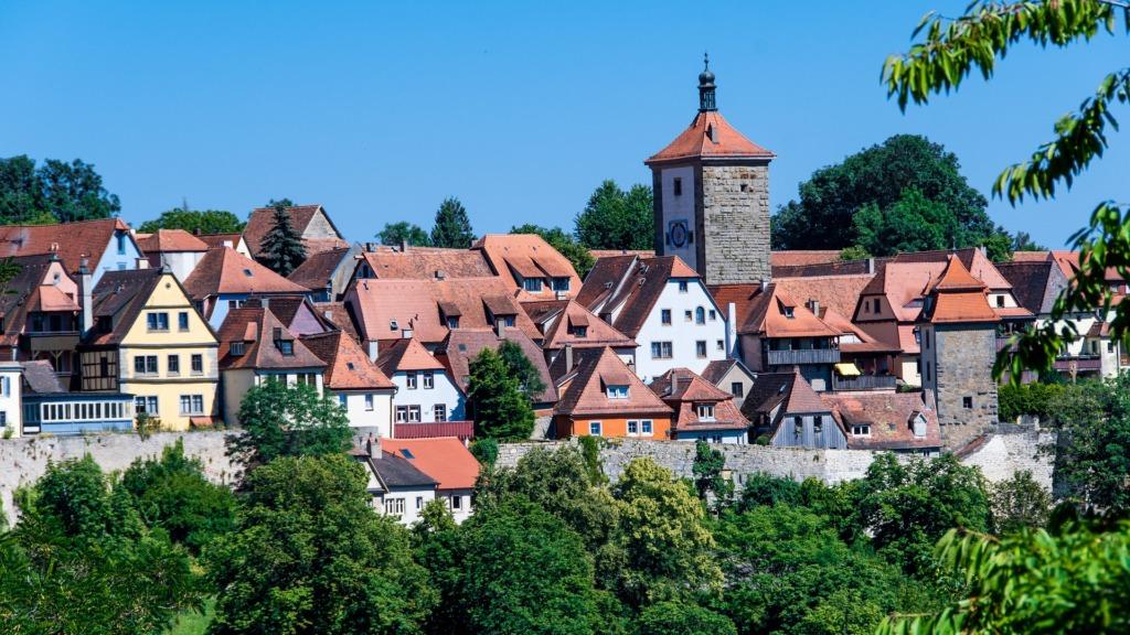 Sehenswürdigkeiten in Rothenburg