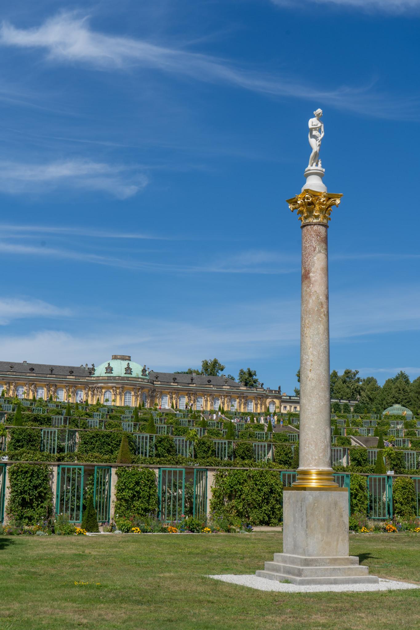 Säule im Park Sanssouci