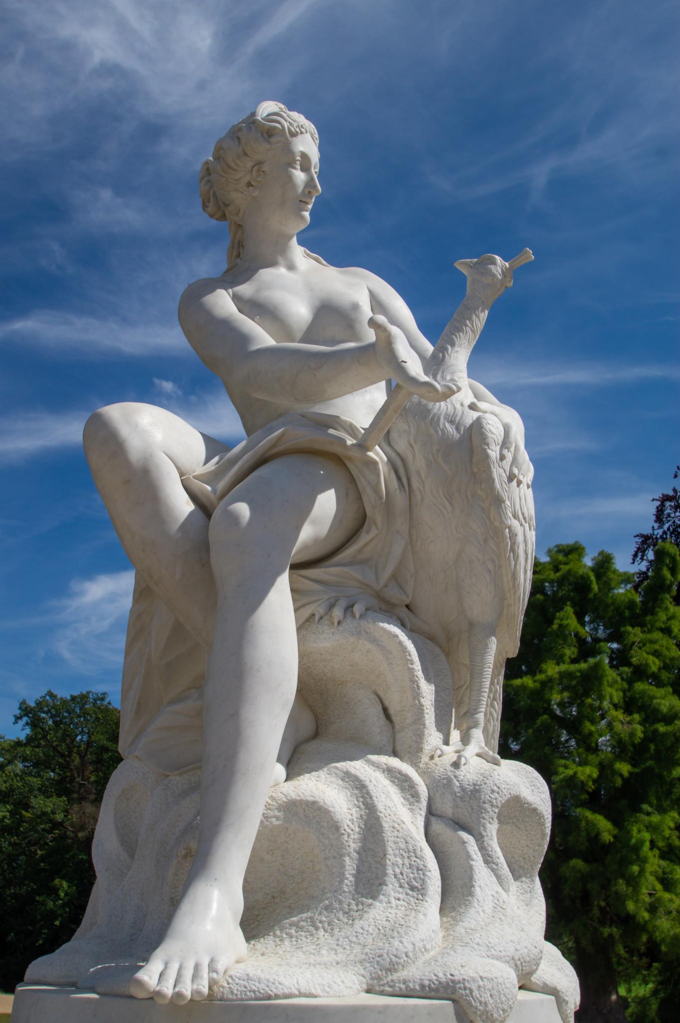 Statue im Schloss Sanssouci
