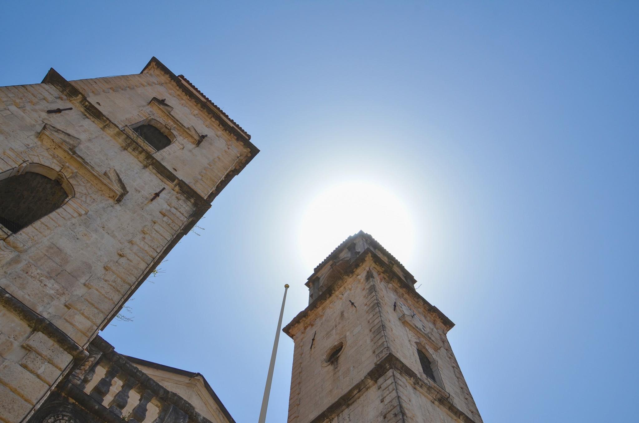Die Kirche Sveti Trifun in der Altstadt von Kotor