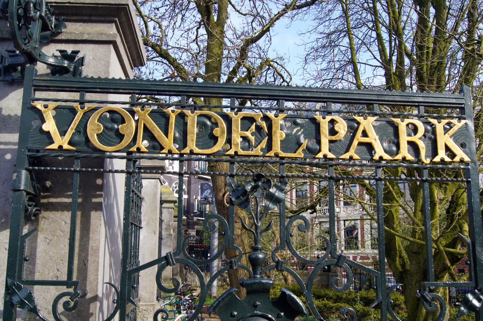 Eingang zum Vondelpark
