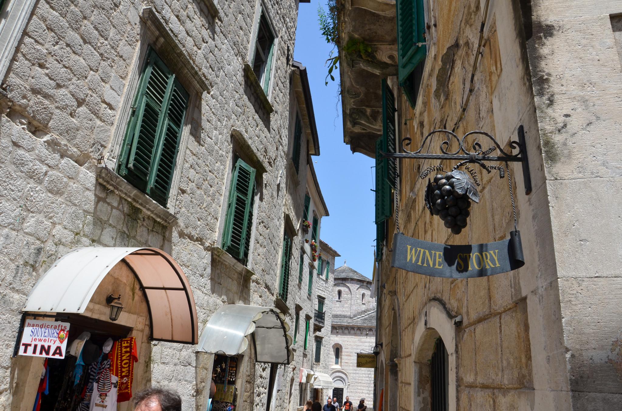 Gassen in der Altstadt von Kotor