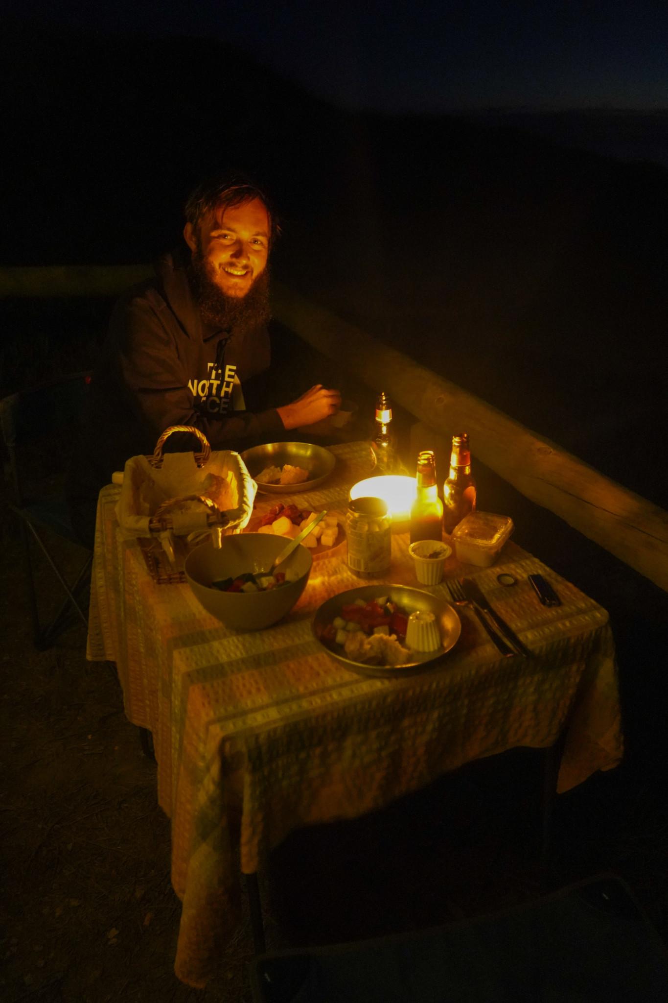Das beste am Campen? Das Kochen.