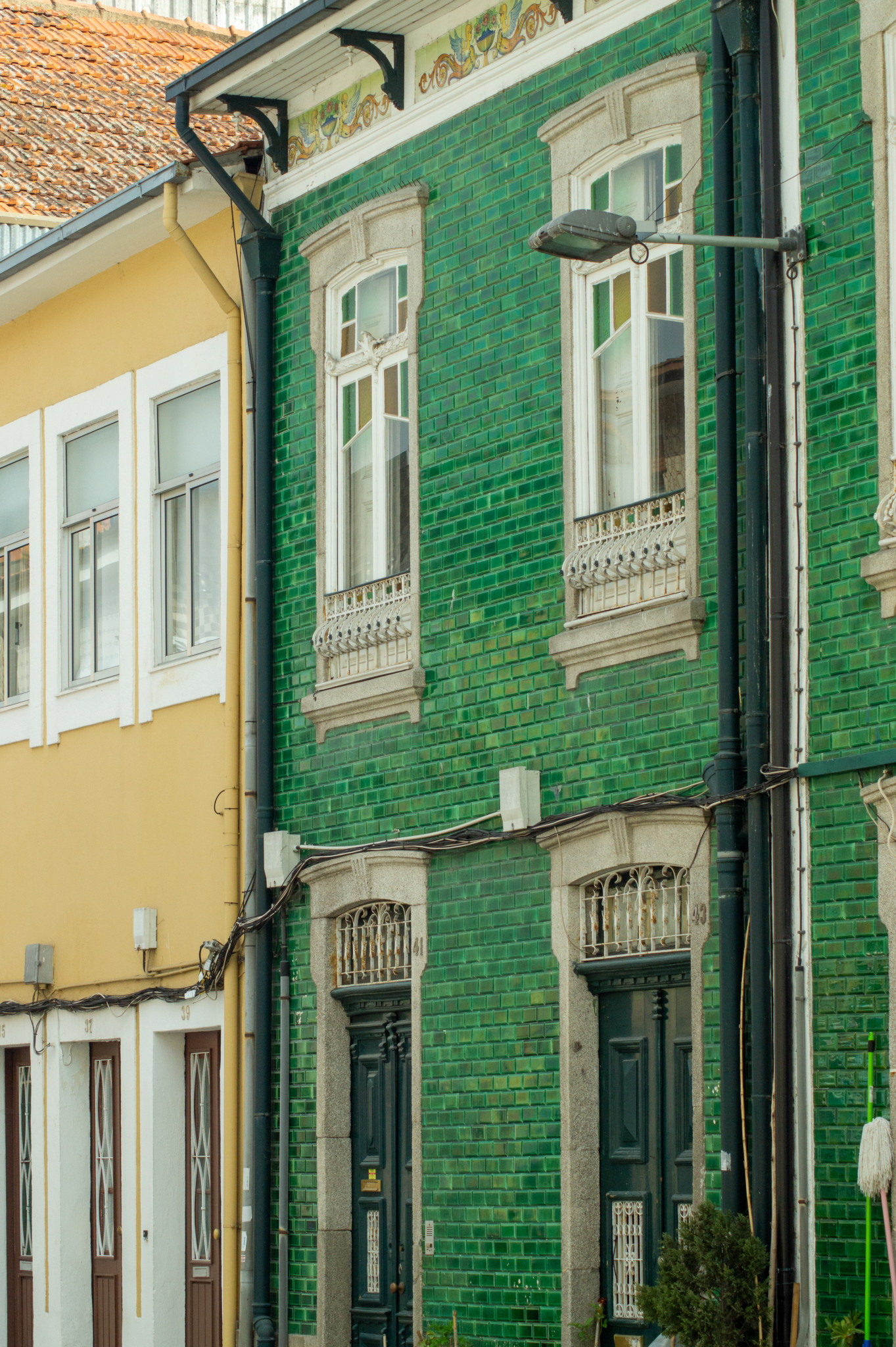 Architektur in Afurada