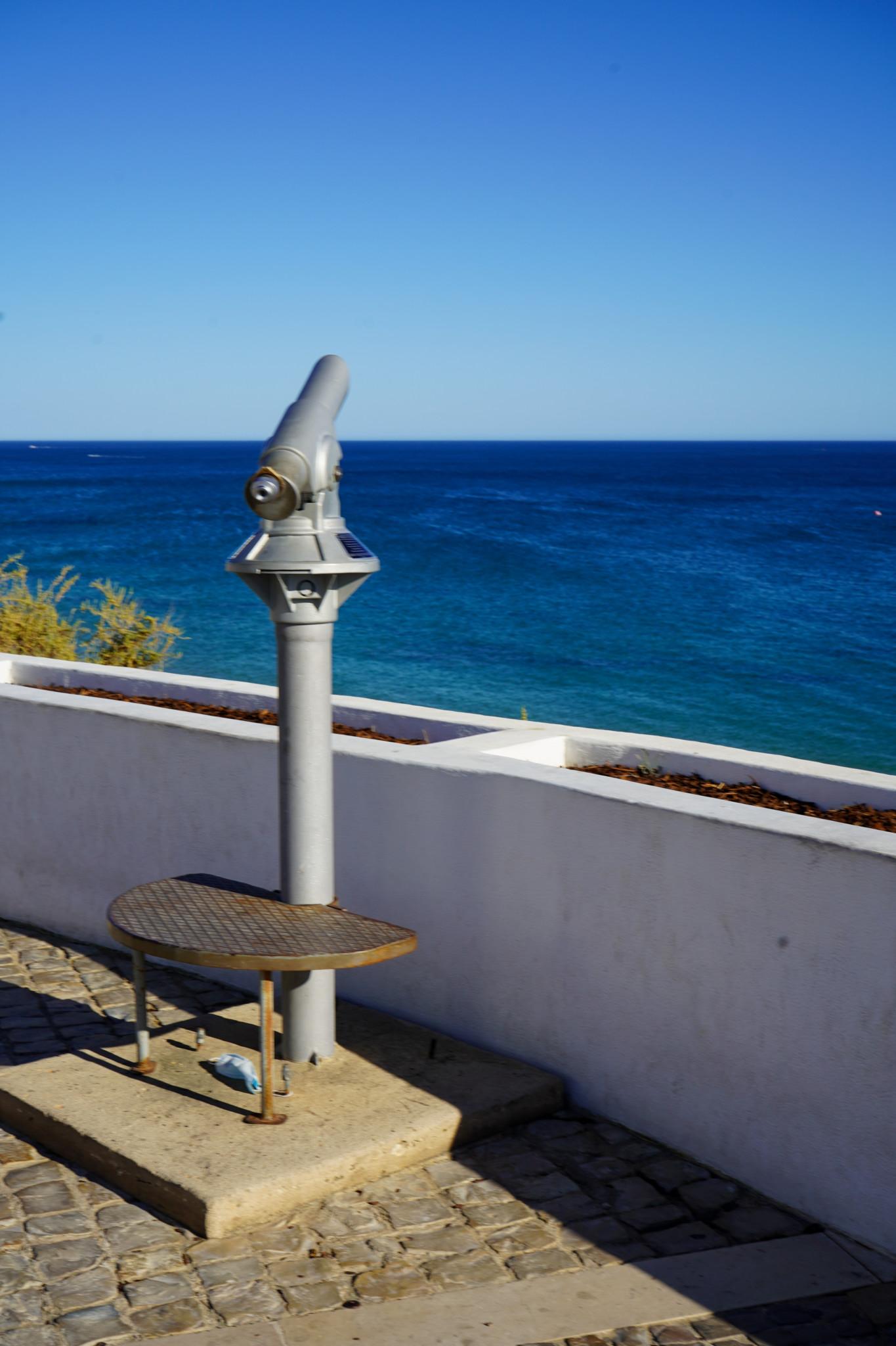 Ausblick auf den Praia Alemaes in Portugal