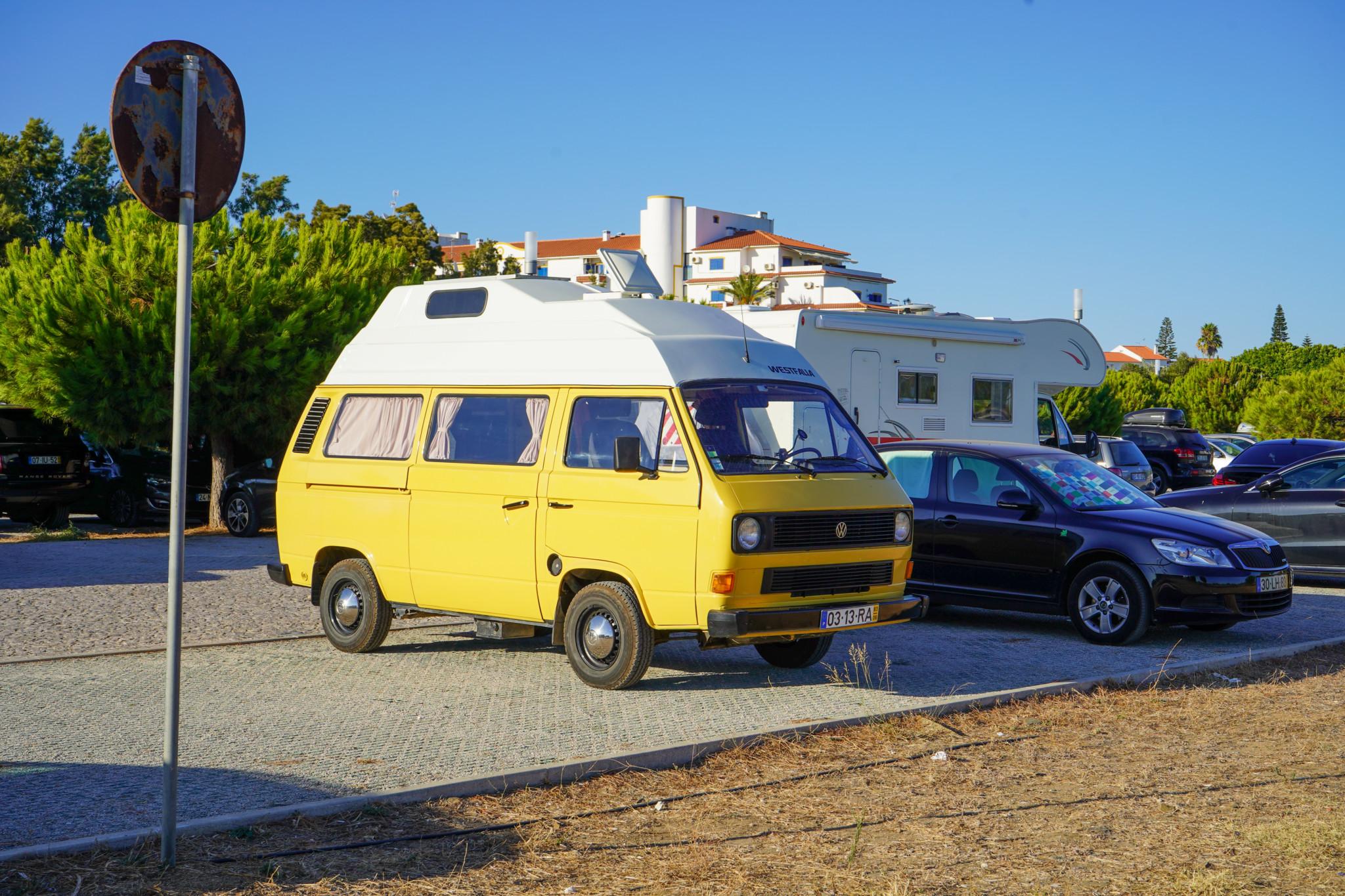 Parken geht in Portugal super einfach