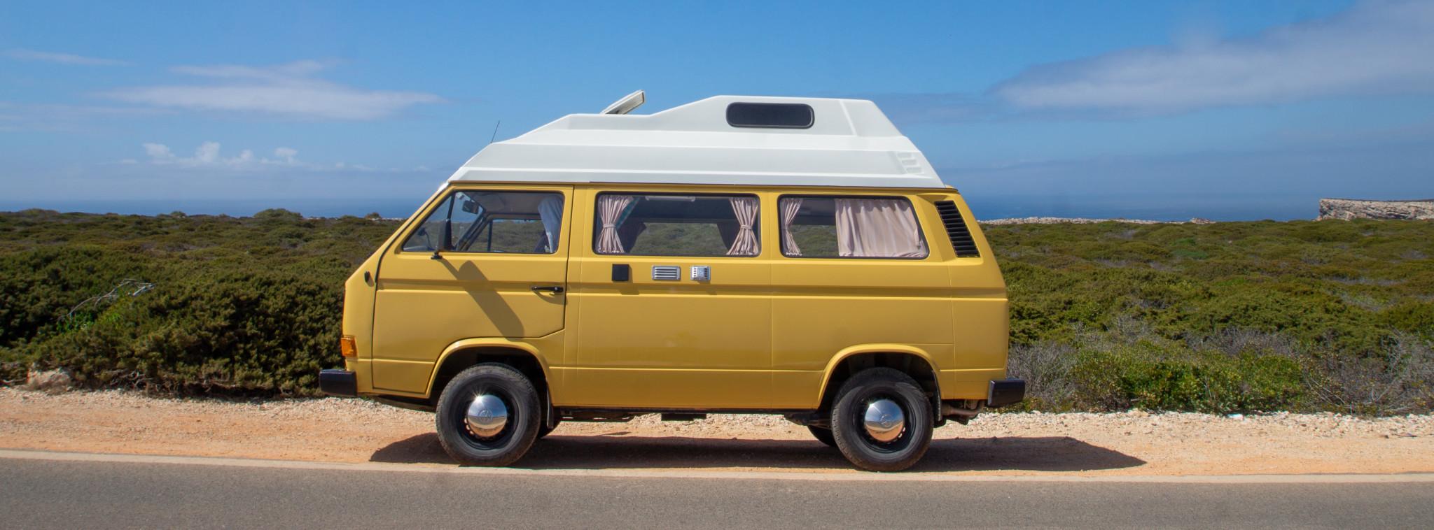Roadtrip in Portugal mit dem Campervan