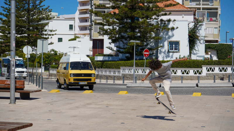 Mit dem Volkswagen T3 durch Portugal
