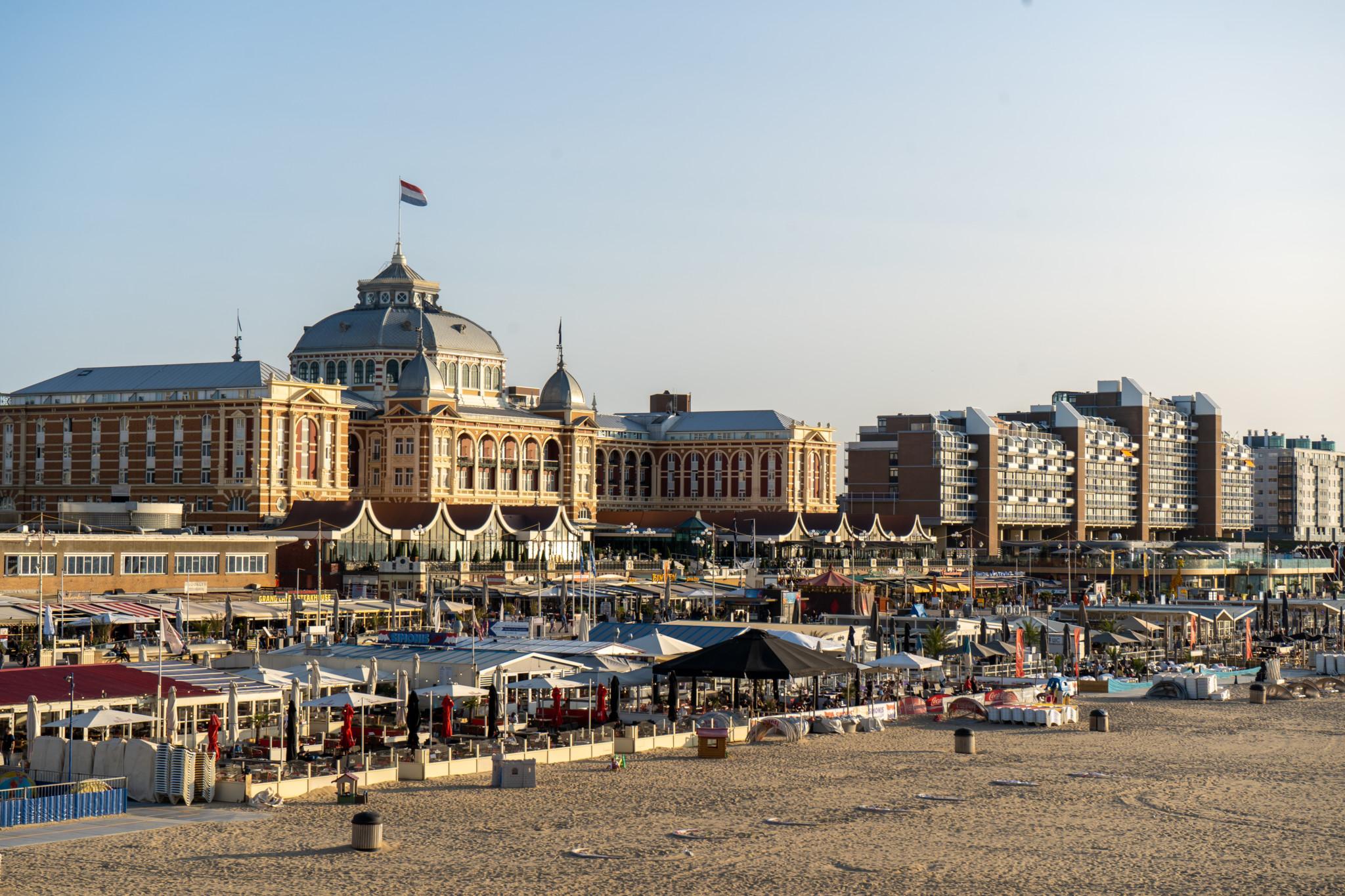 Ausblick vom Pier in Scheveningen