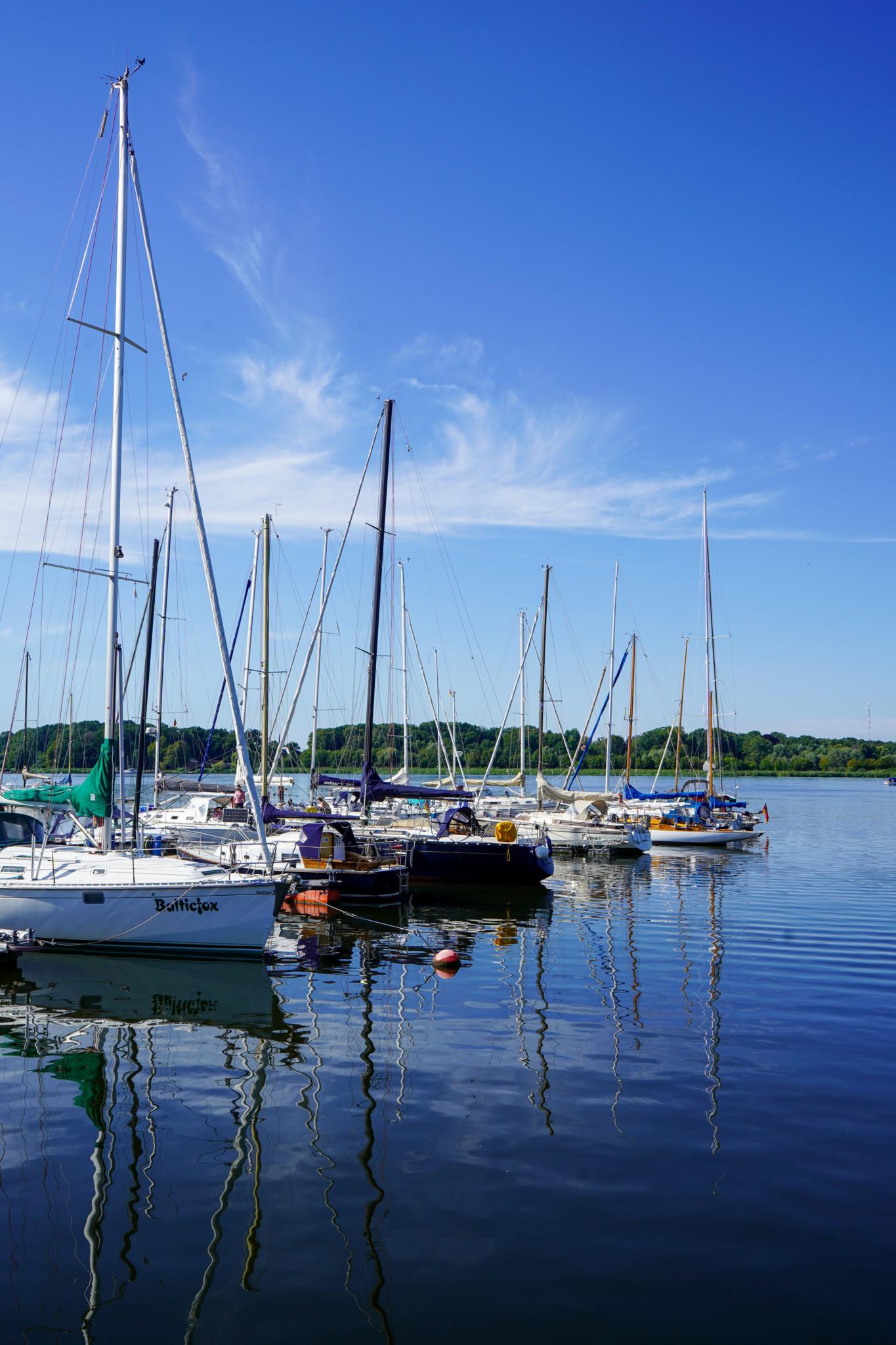Marina im Stadthafen Rostock