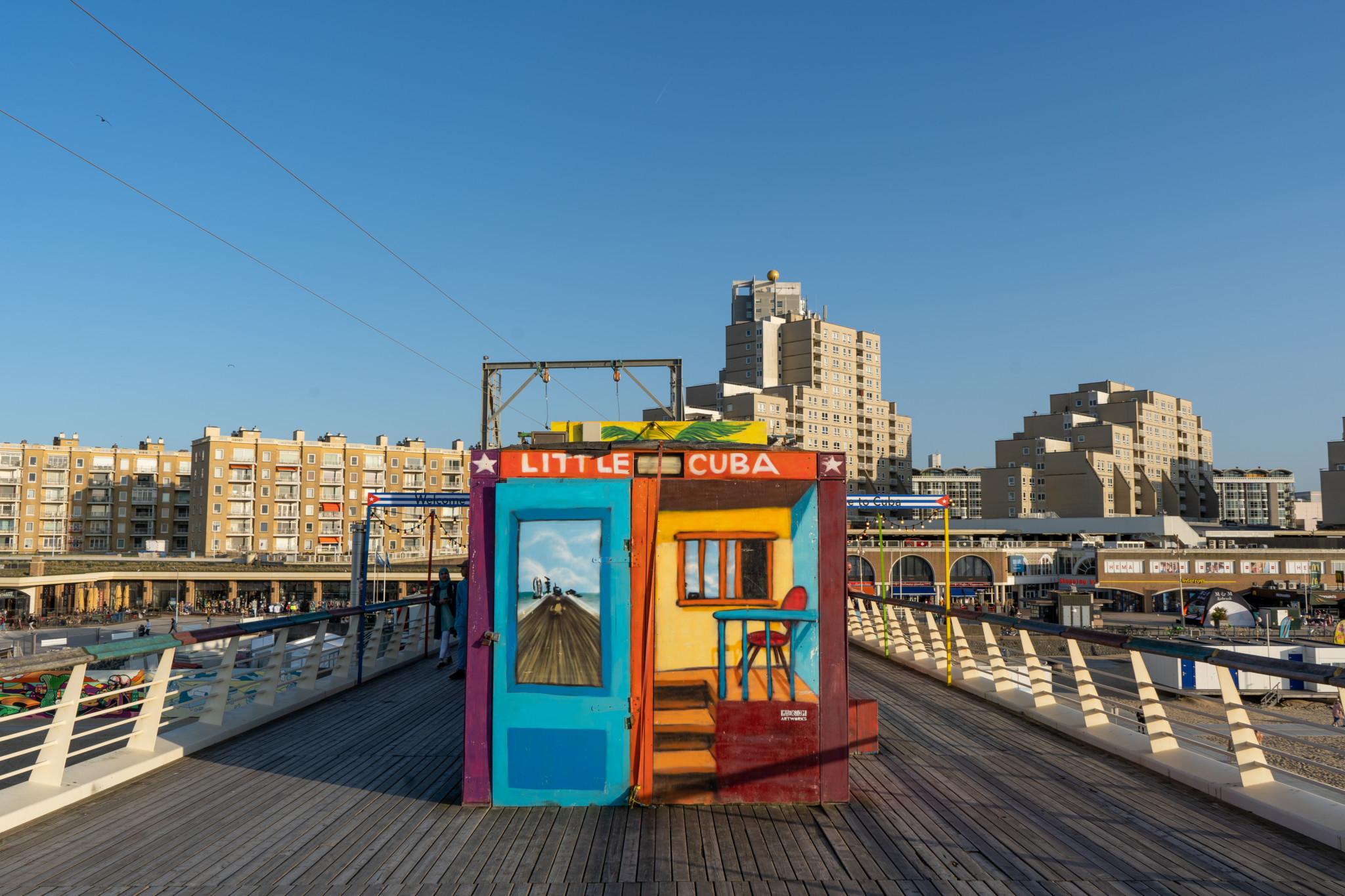 Der Pier von Scheveningen