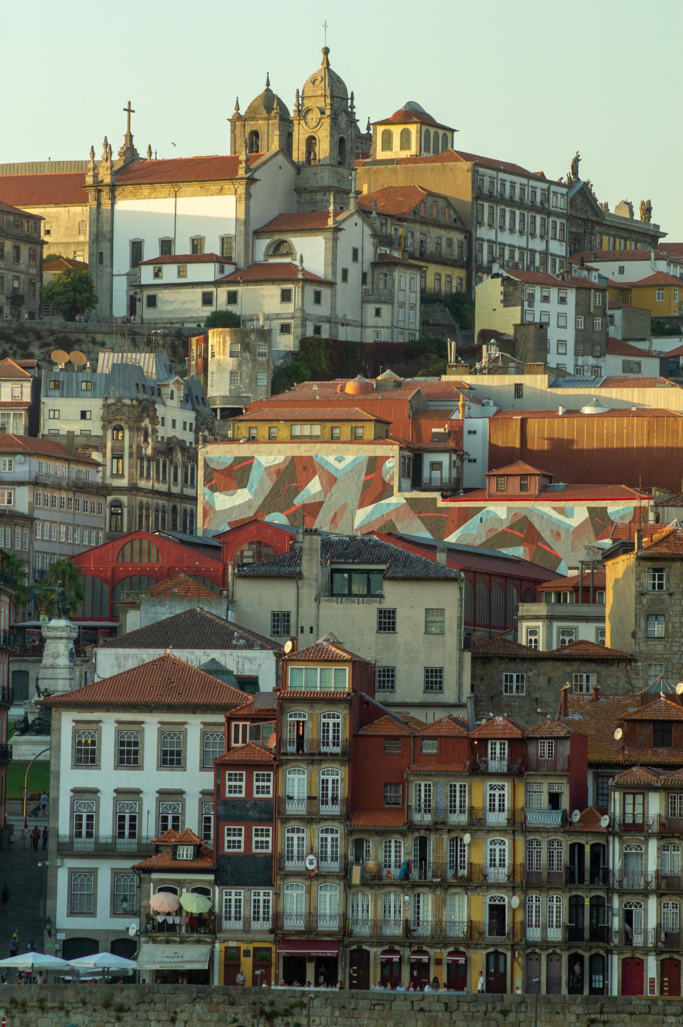 Typische Architektur in Porto