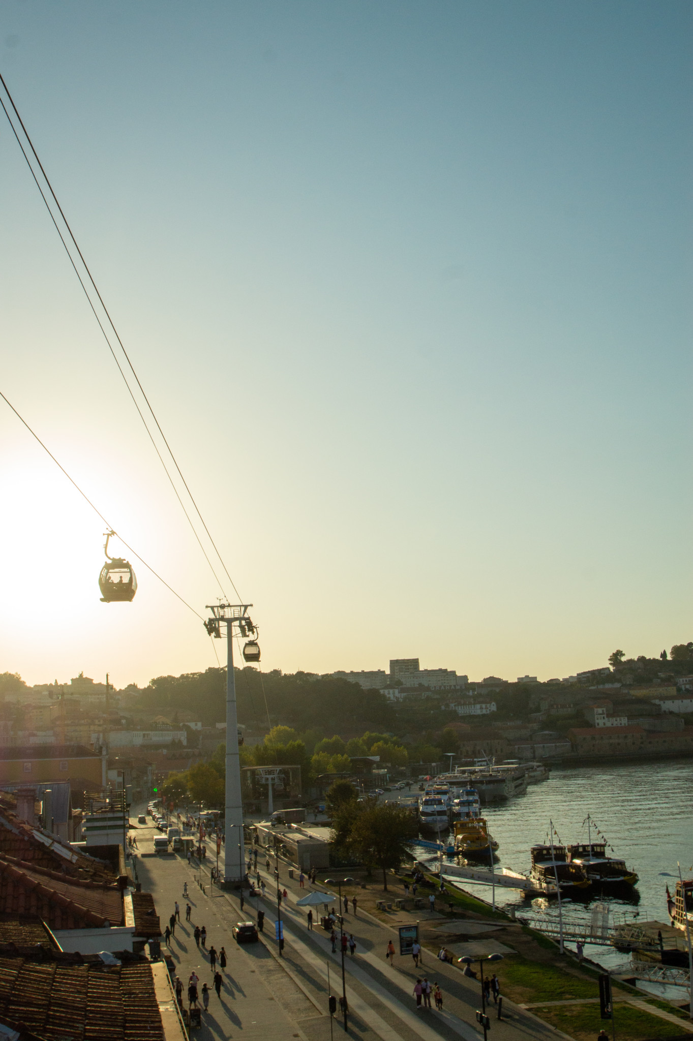 Seilbahn in Porto