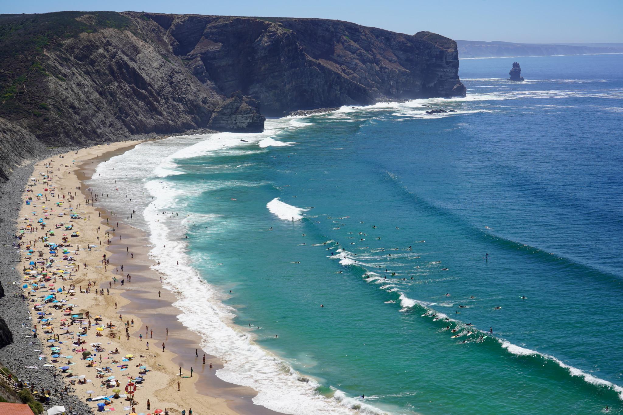 Praia do Arrifana in Portugal
