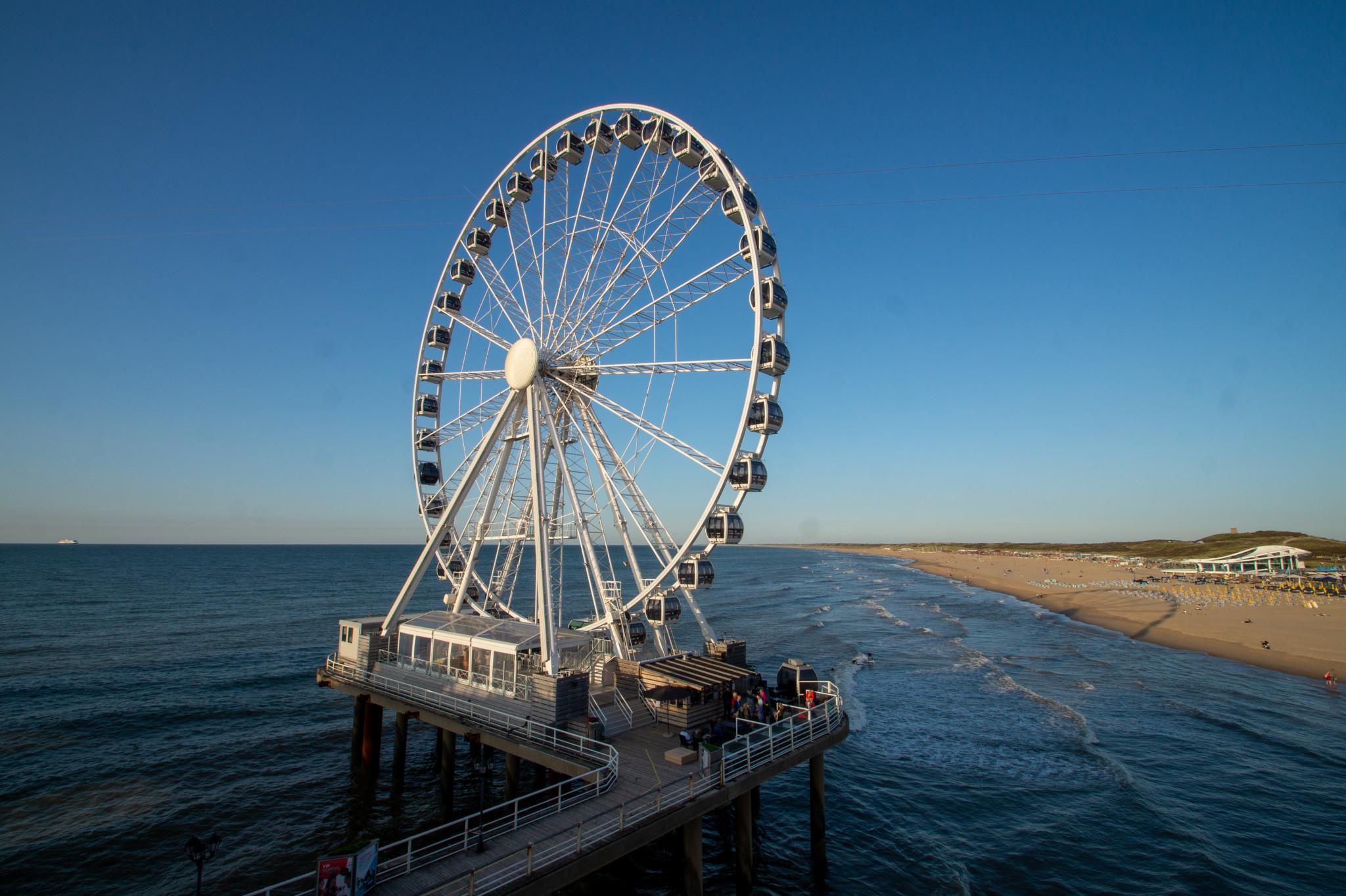 Riesenrad am Scheveningen Strand