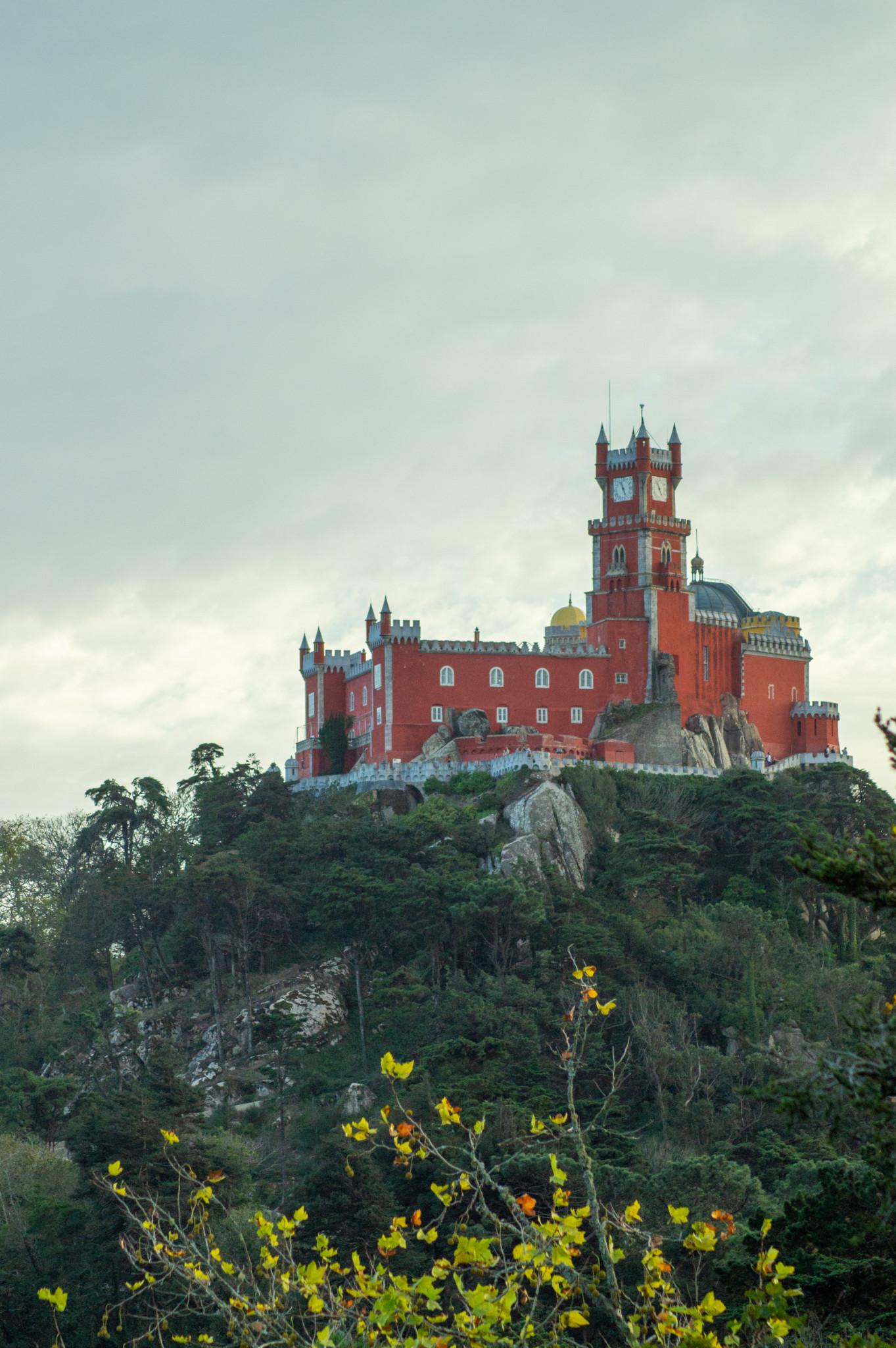 Sintra Schloss in Portugal