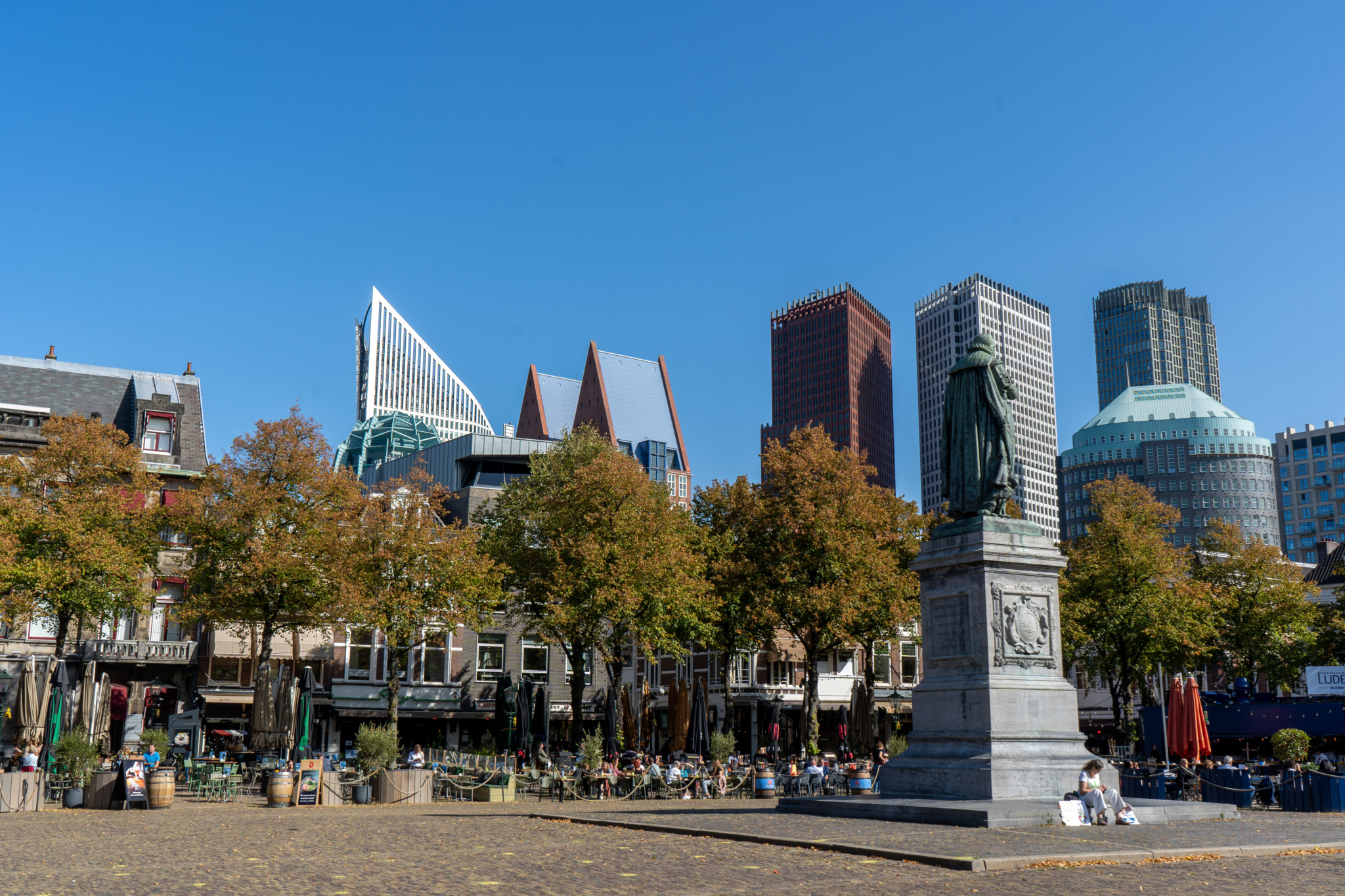 Skyline in Den Haag