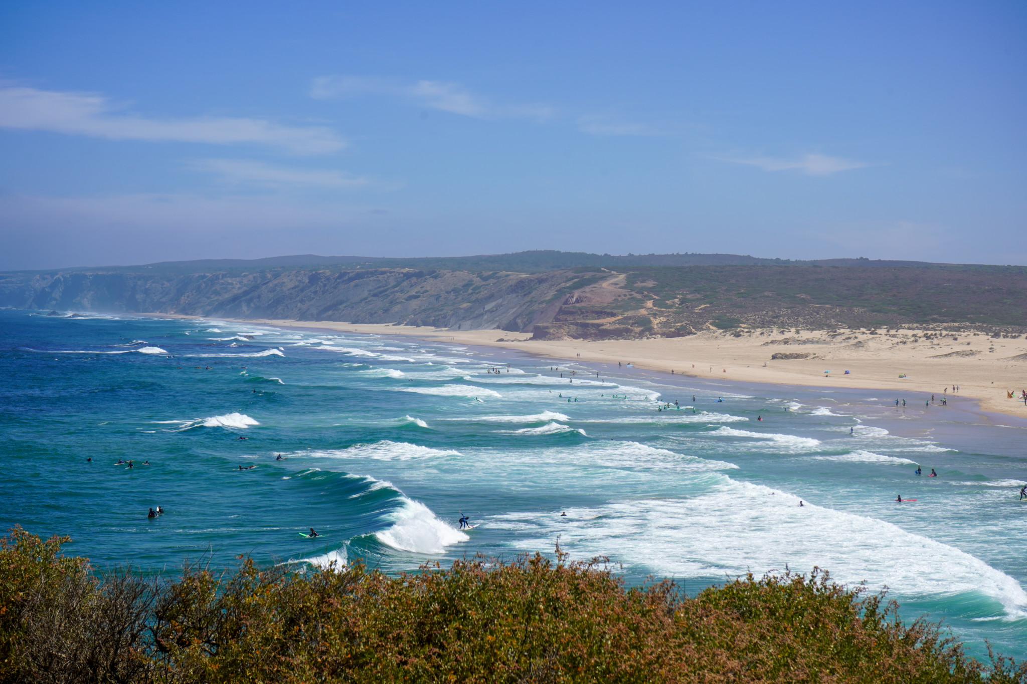 Die Westküste der Algarve Portugal ist ein Traum.