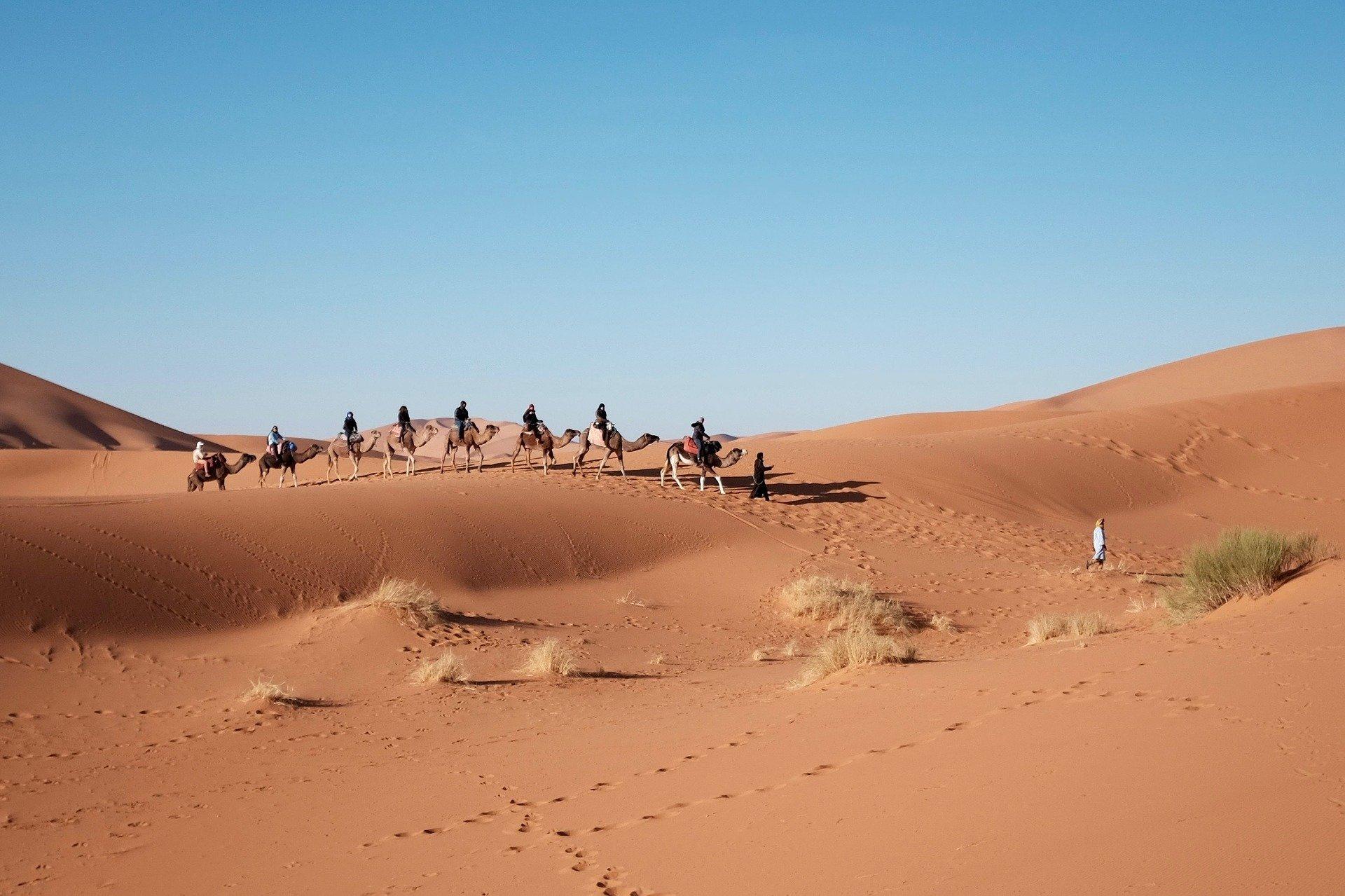 Die Wüste in Ägypten