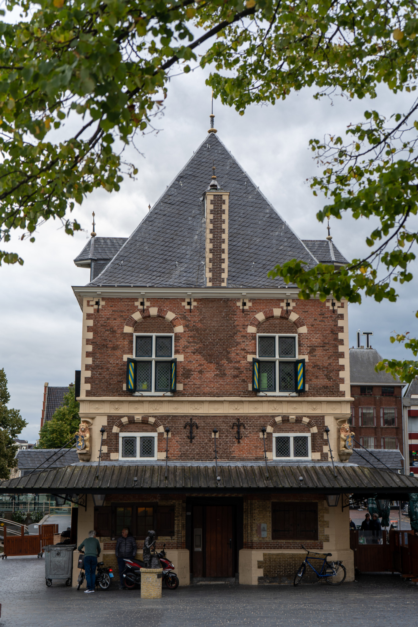 De Waad in Leeuwarden in den Niederlanden