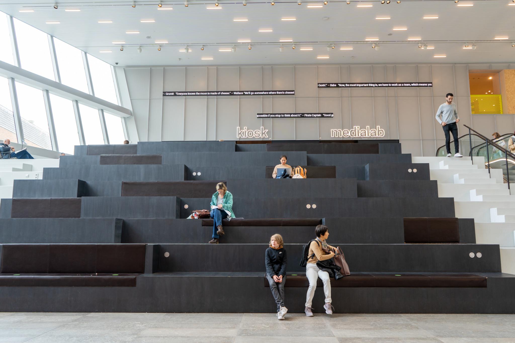 Das moderne Forum Groningen