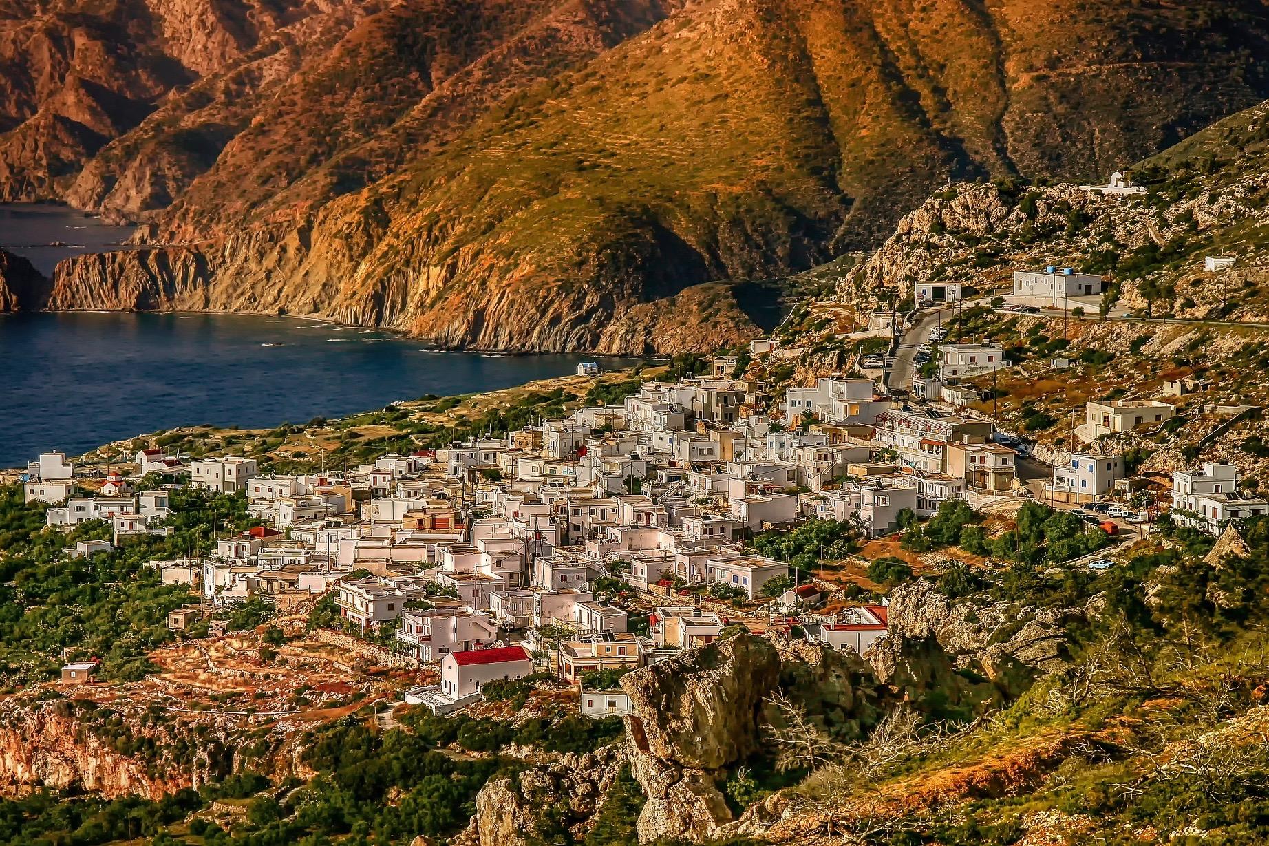 Herrliches Licht in Griechenland im November