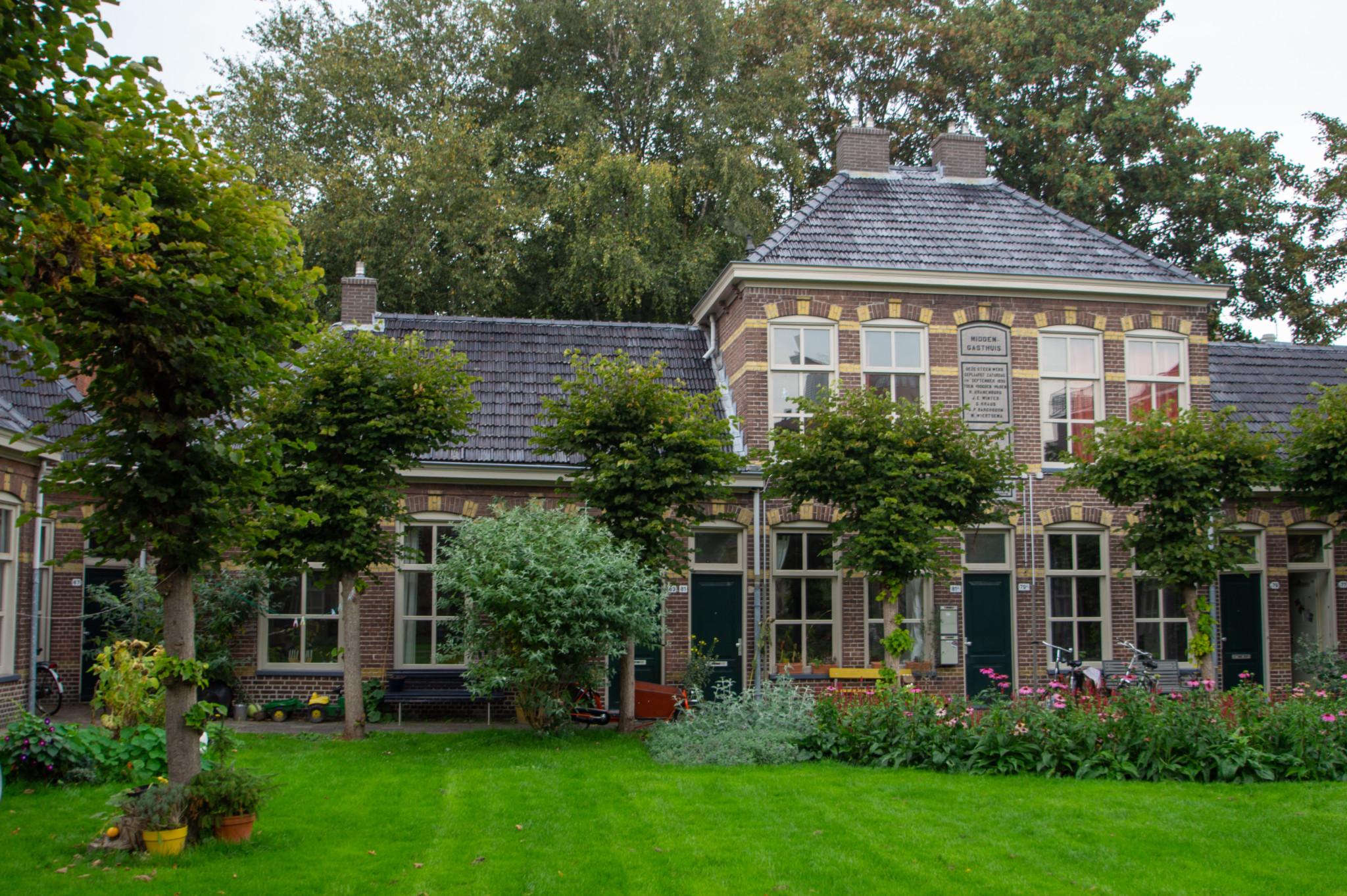 Innenhöfe in Groningen