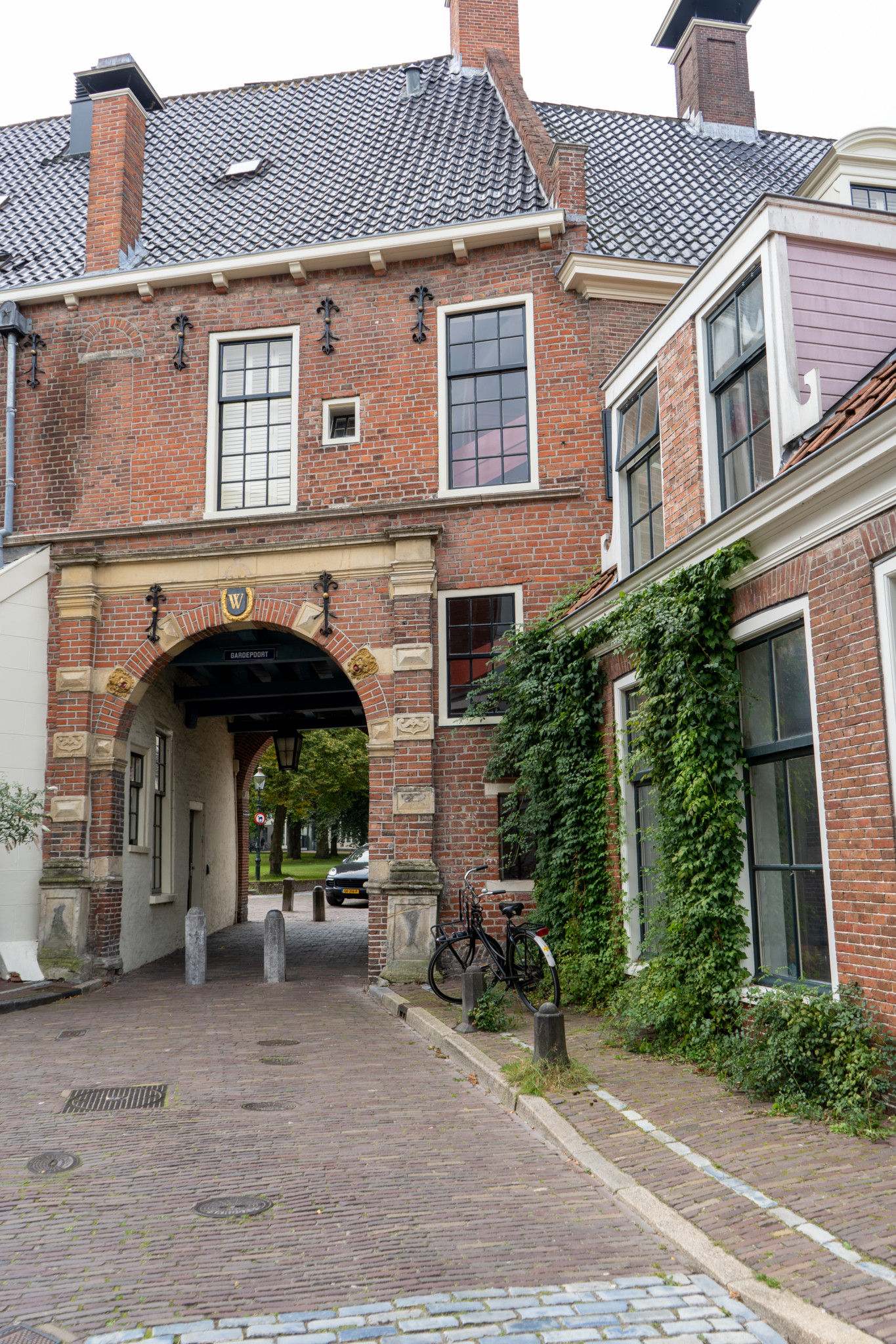 Hübsche Gasse in Groningen