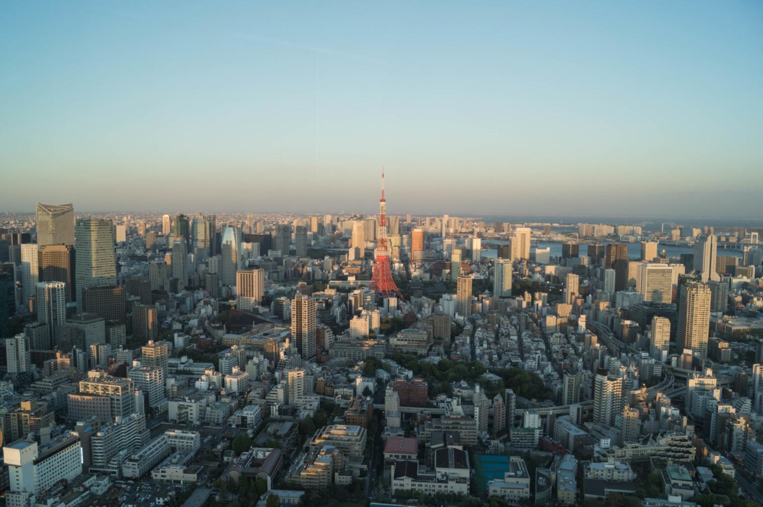 Ausblick in Tokio