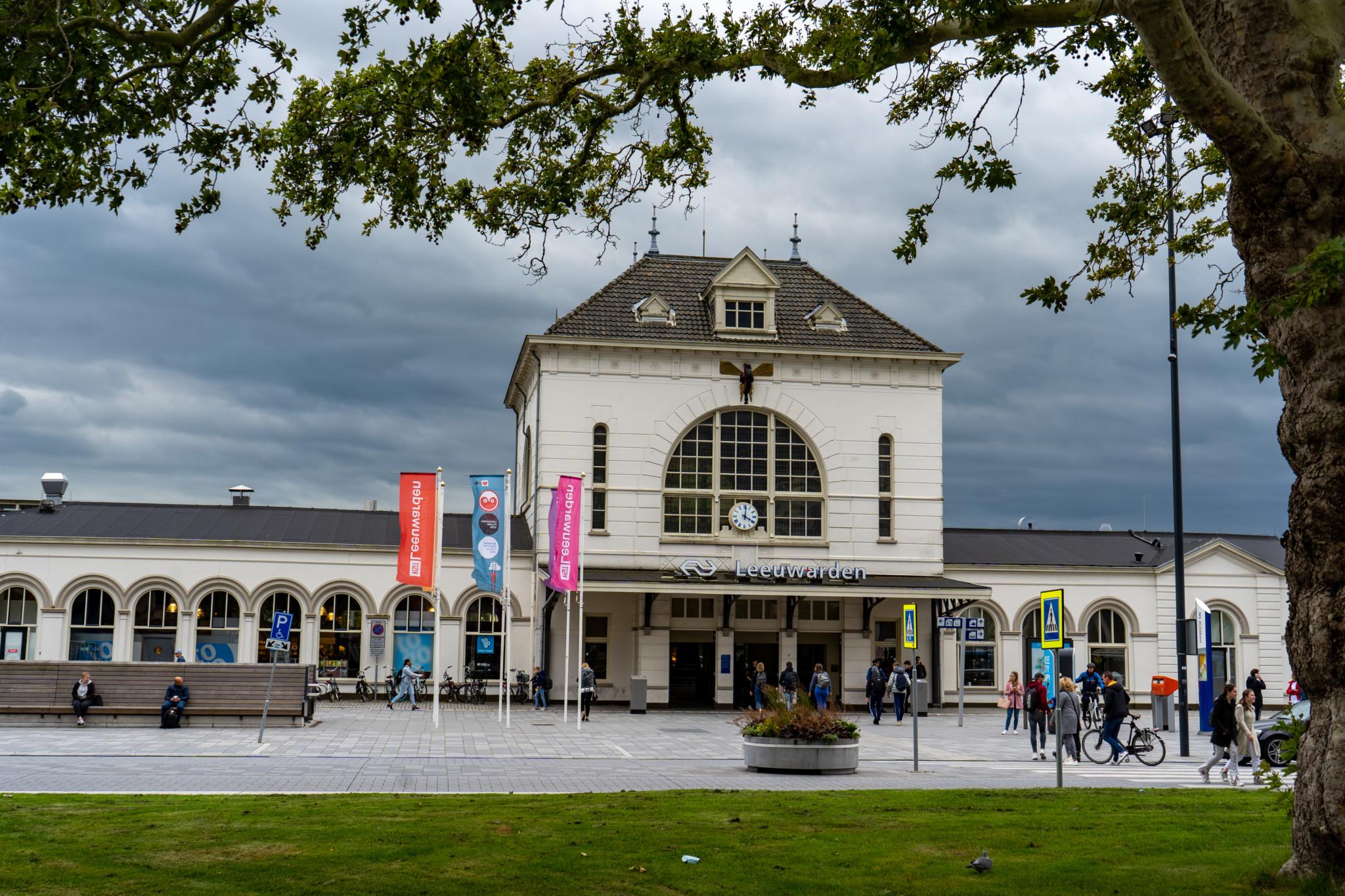Centraal Station in Leeuwarden