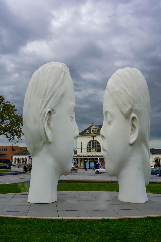 Love Statue in Leeuwarden