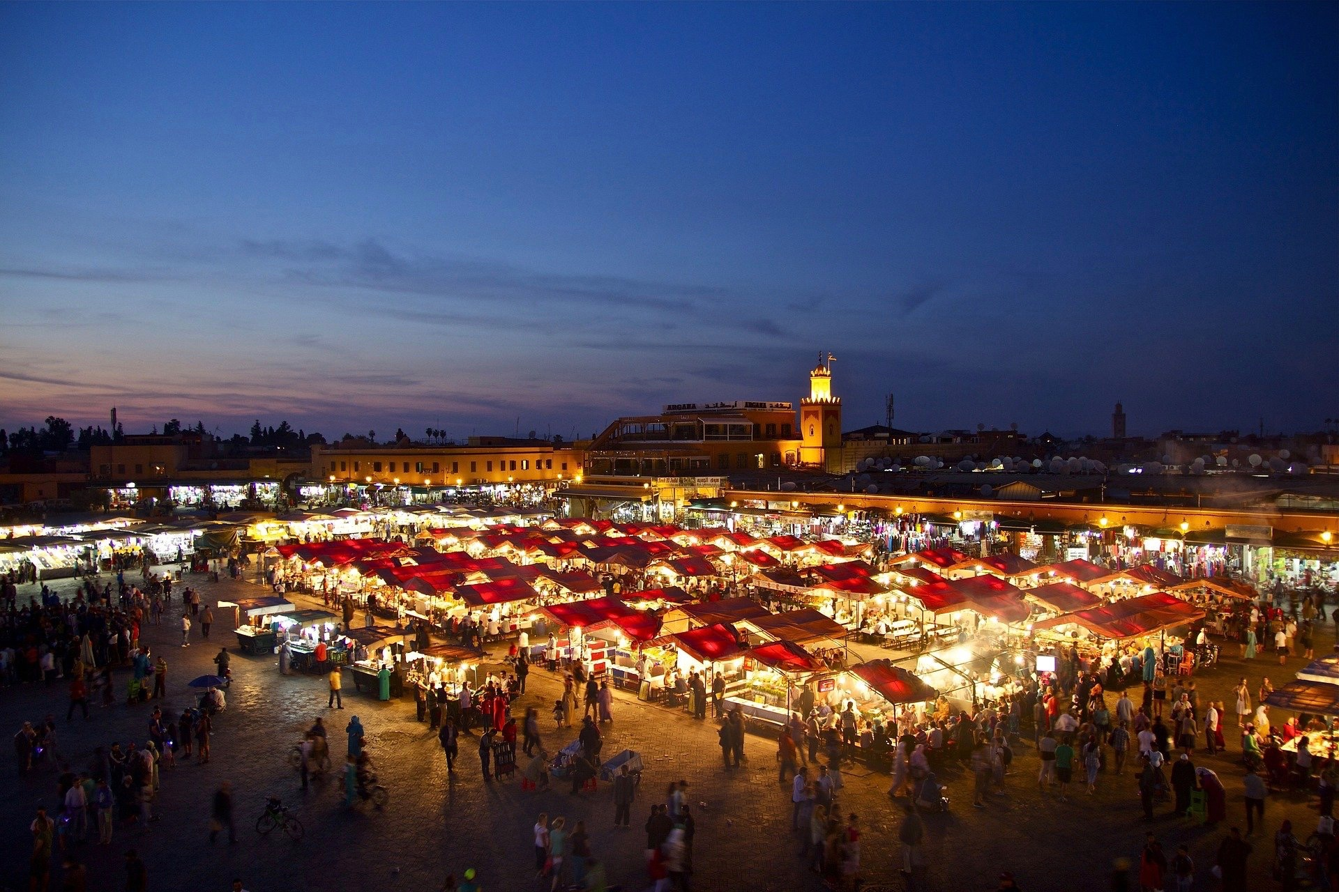 Im November kann es in Marrakesch noch schön warm werden