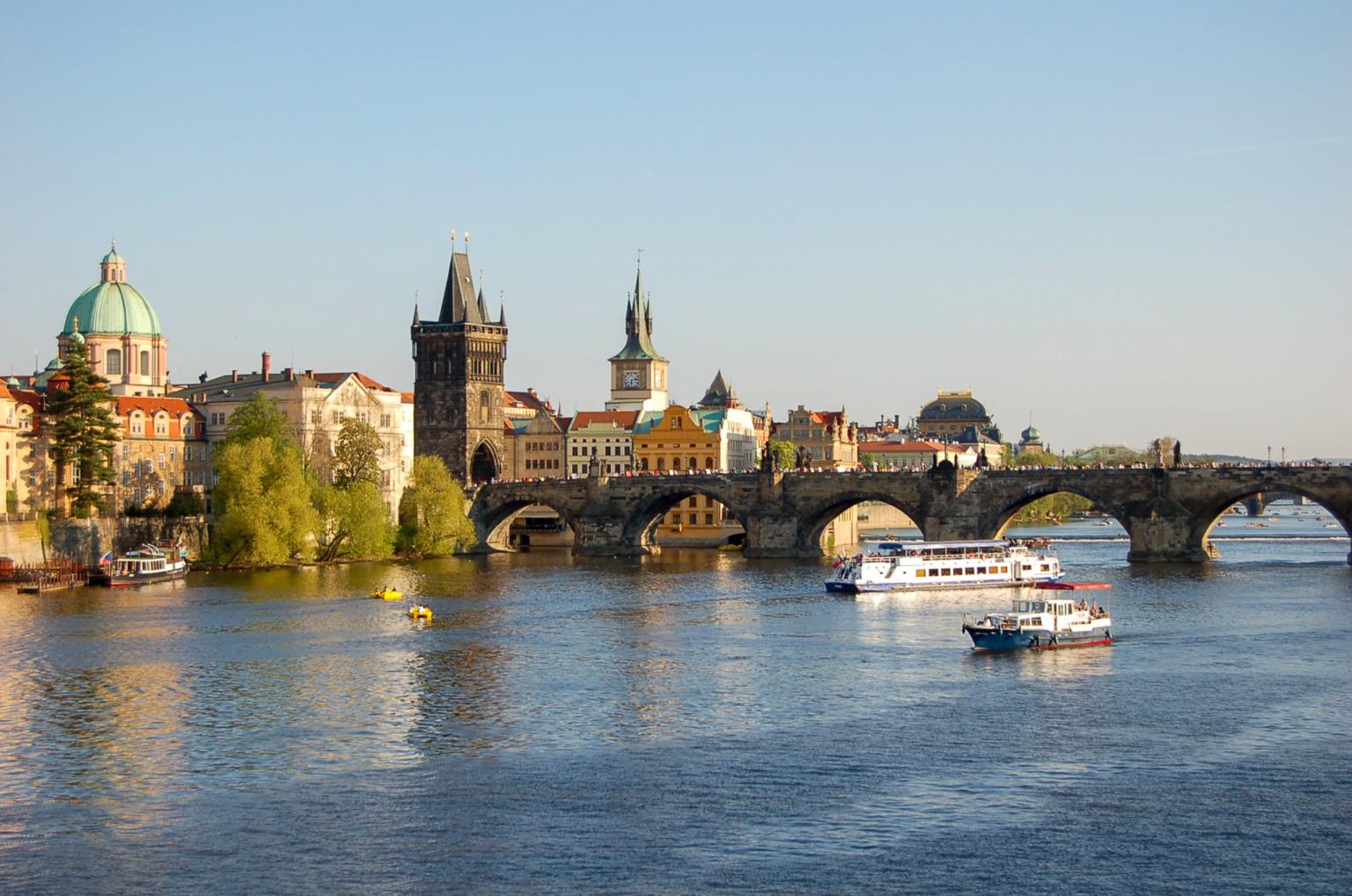 Der Oktober in Prag ist fast schon magisch