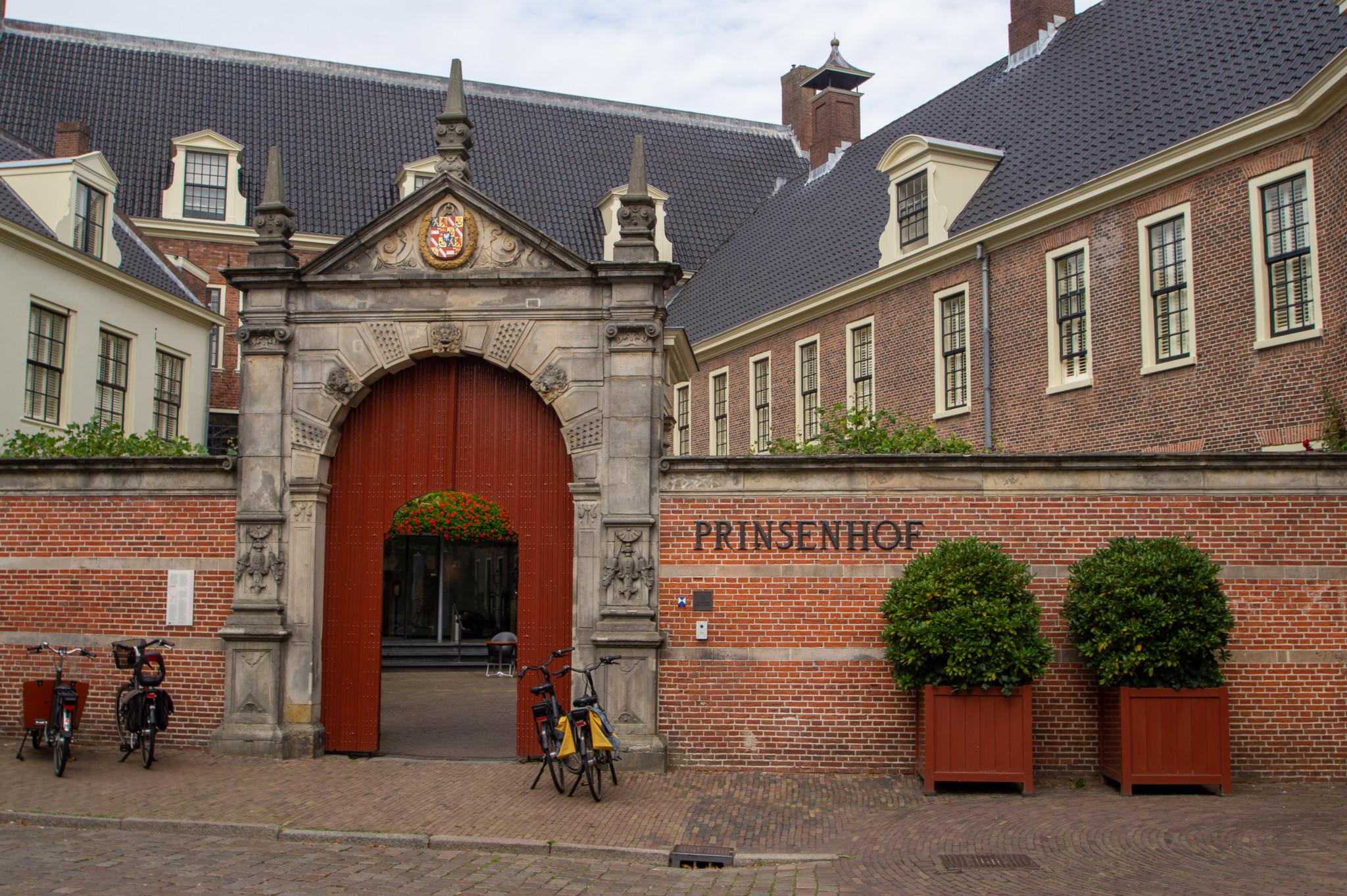 Prinsenhof in Groningen, Holland