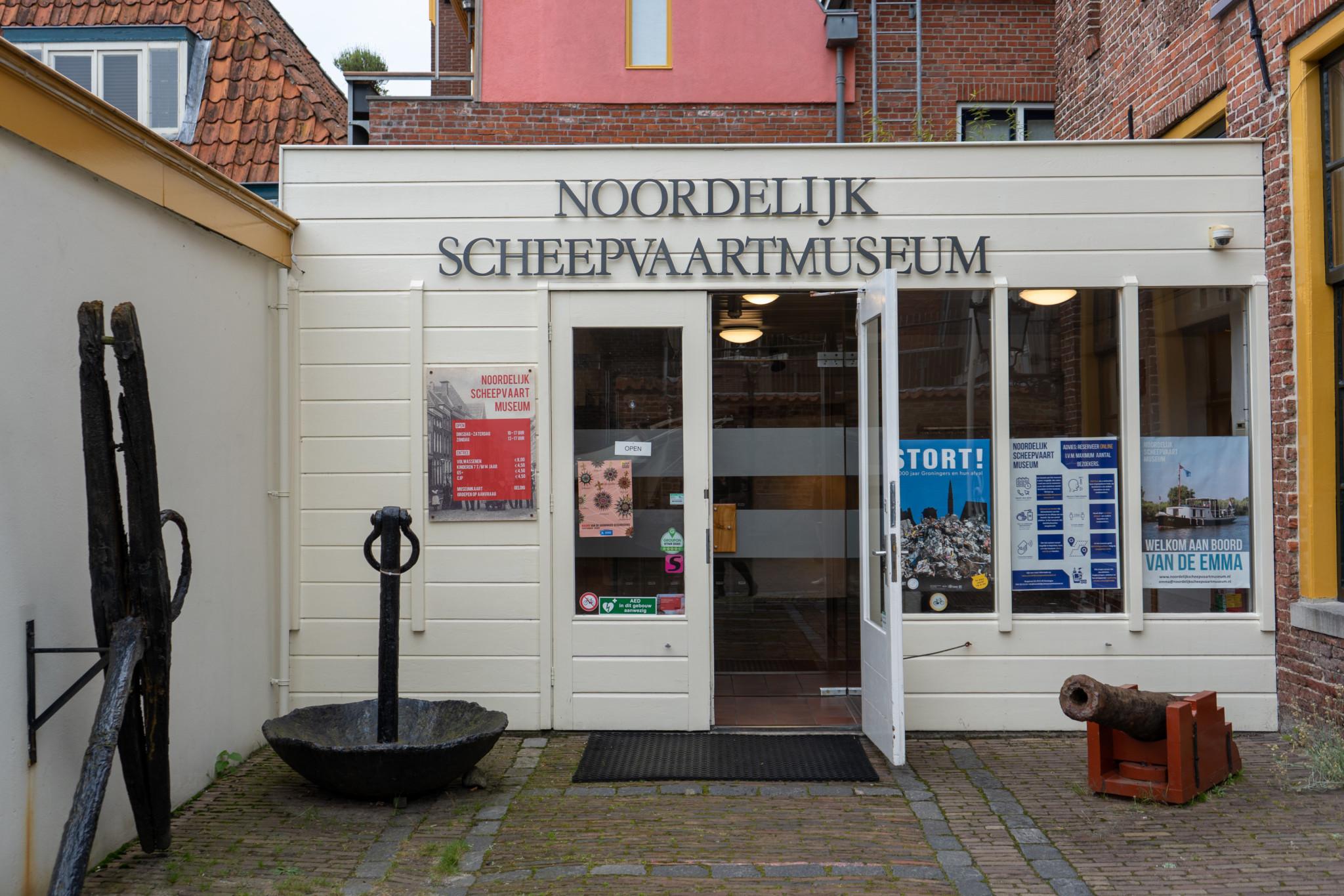 Das Maritime Schifffahrtsmuseum in Groningen