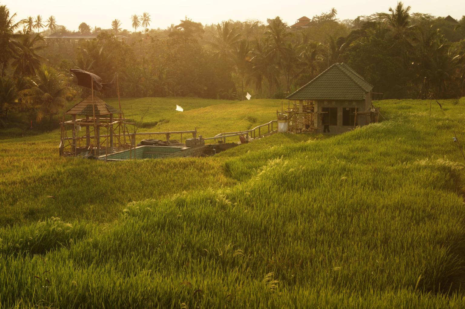 Auf Bali ist es auch im Oktober noch richtig warm.