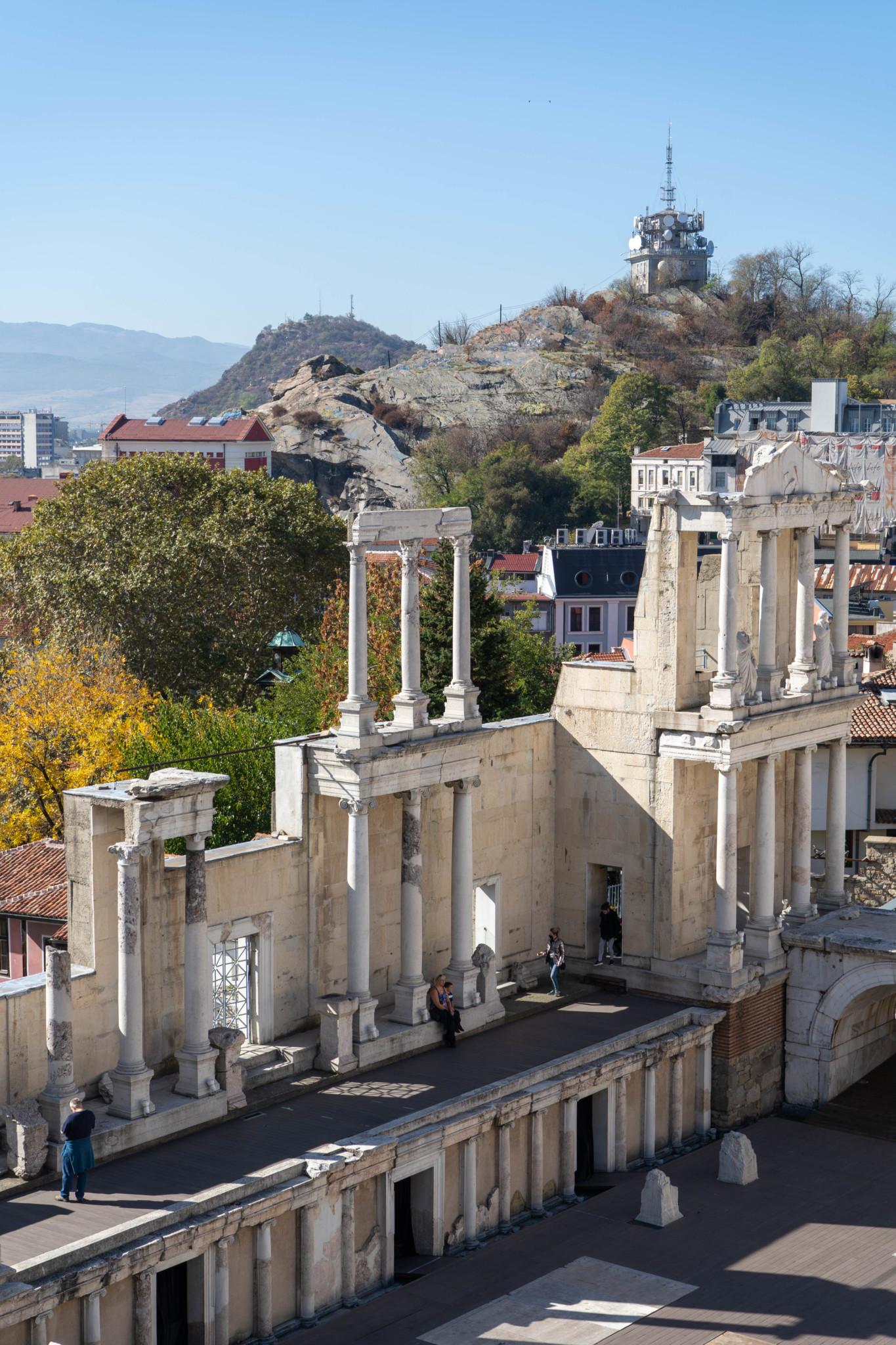 Antiktheater in Plovdiv