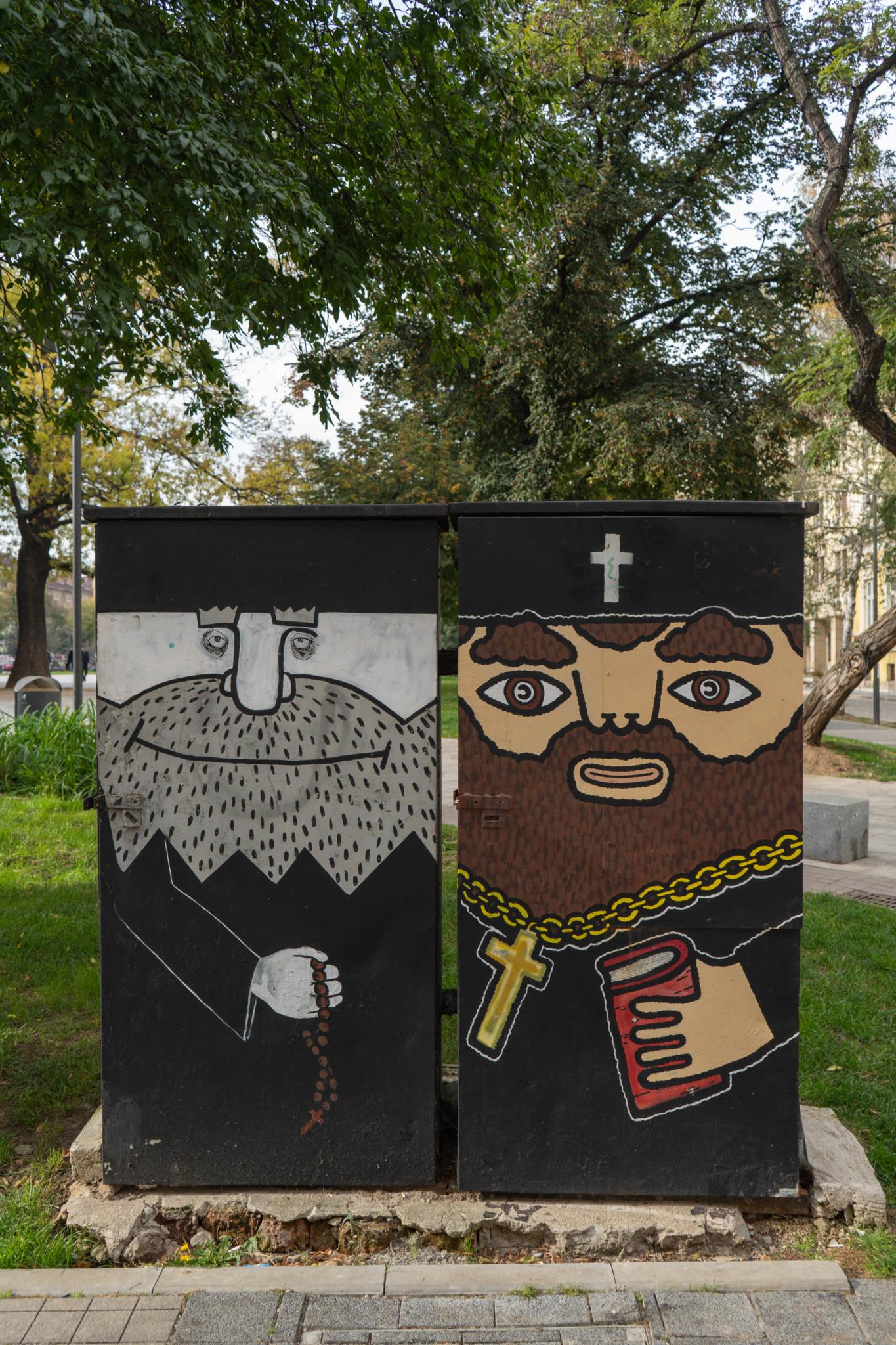 Streetart im Bulgarien Urlaub