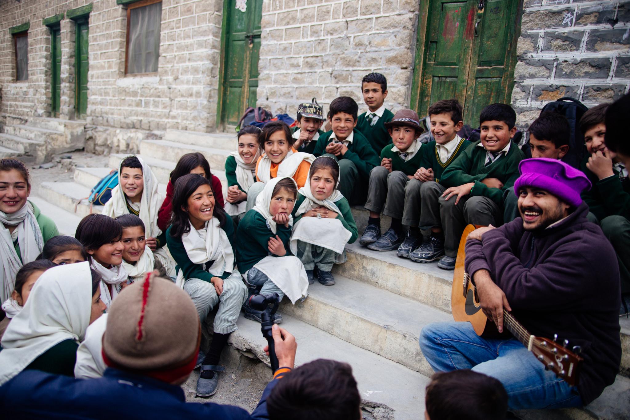 Kinder in Gilgit-Baltistan